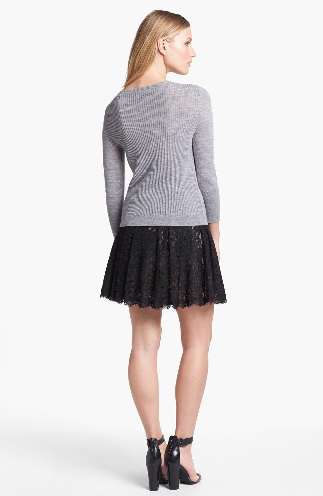 Alternate Image 2  - Diane von Furstenberg 'Kiernan' Lace Skirt