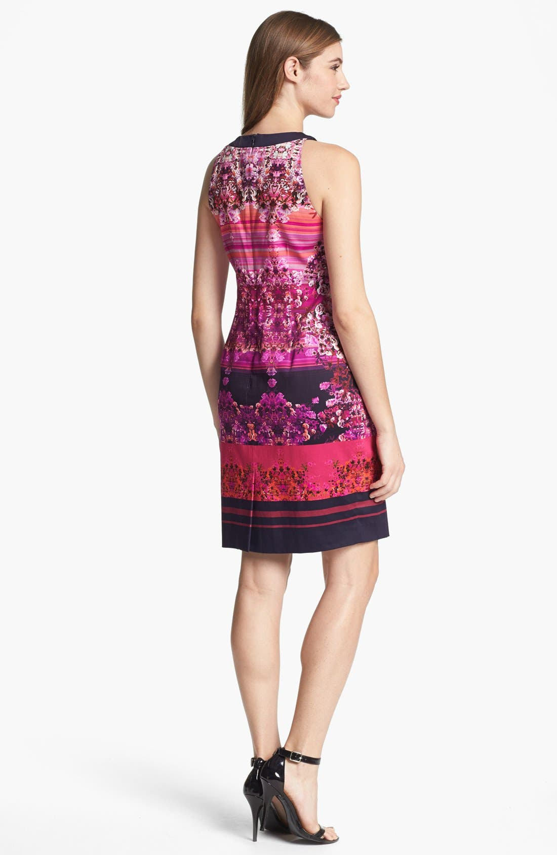 Alternate Image 2  - Adrianna Papell Digital Print Dress