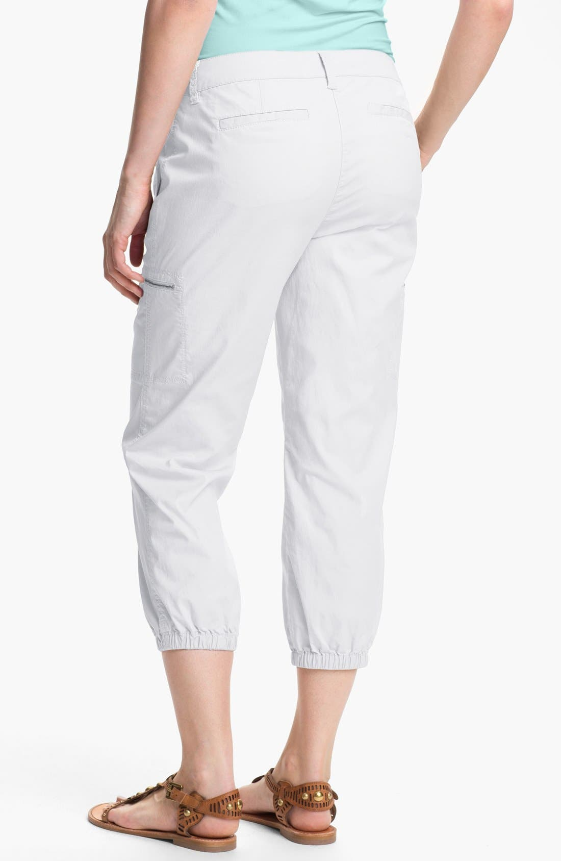 Alternate Image 2  - Eileen Fisher Crop Cargo Pants (Petite)