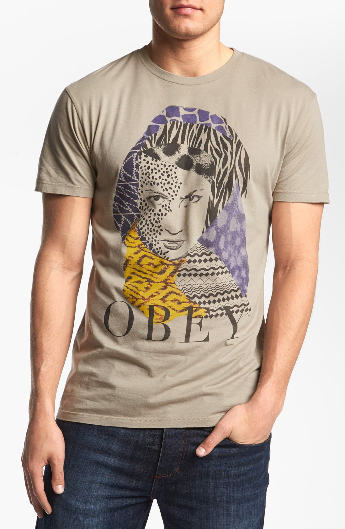 Alternate Image 1 Selected - Obey 'High Jungle' T-Shirt