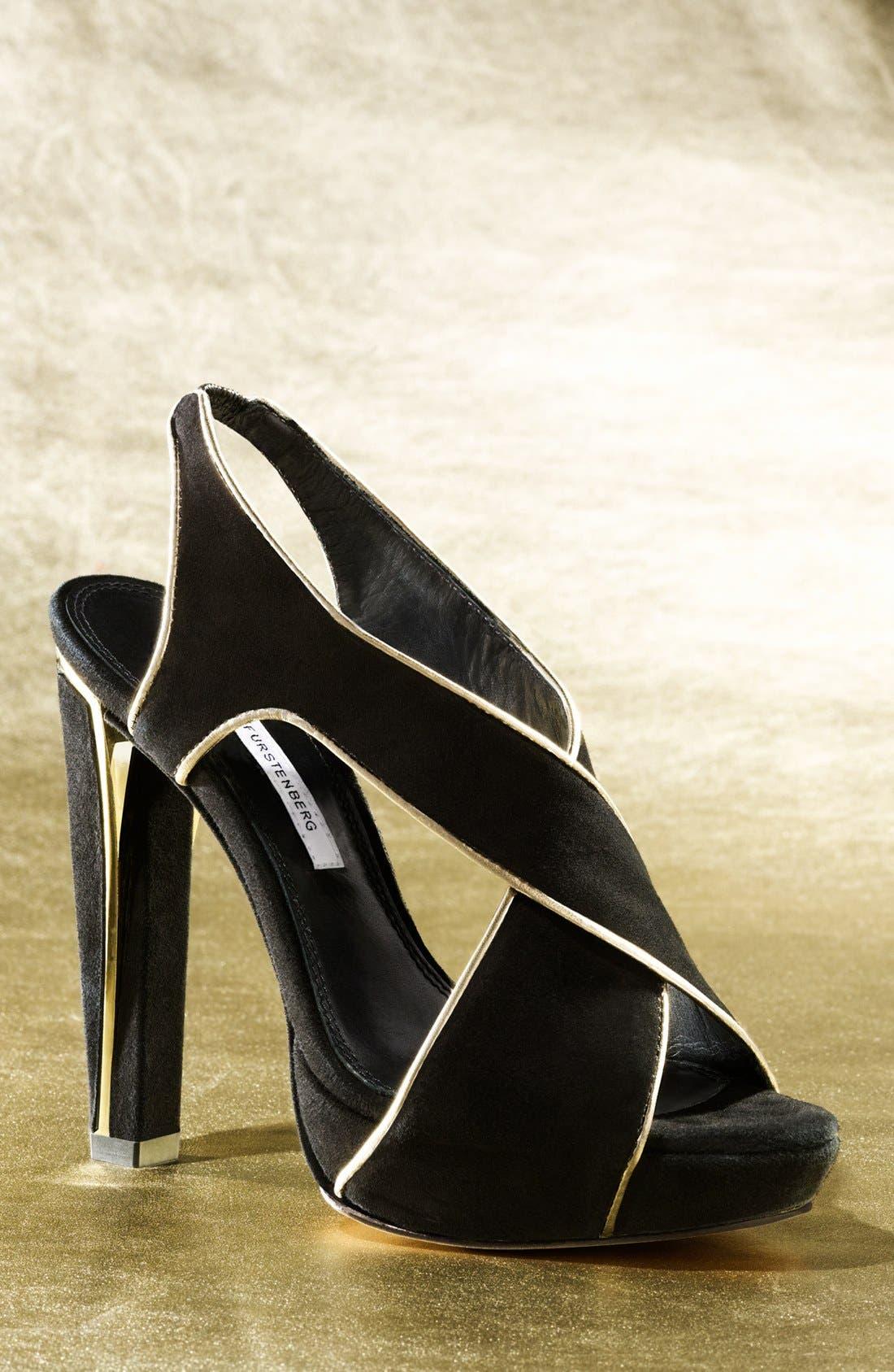 Alternate Image 5  - Diane von Furstenberg 'Julia' Sandal (Online Only)