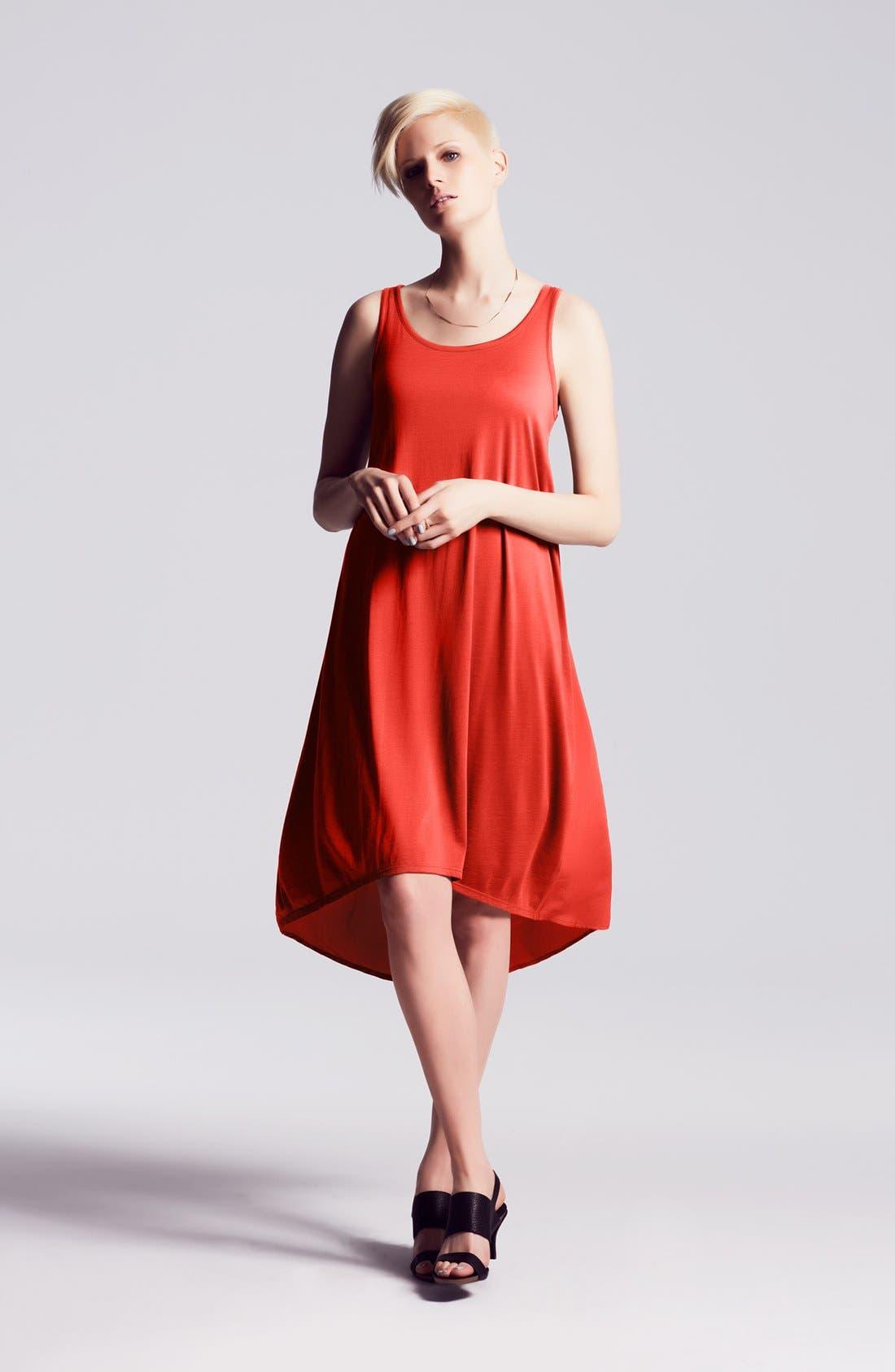 Alternate Image 2  - Eileen Fisher Flared Dress & Sandal