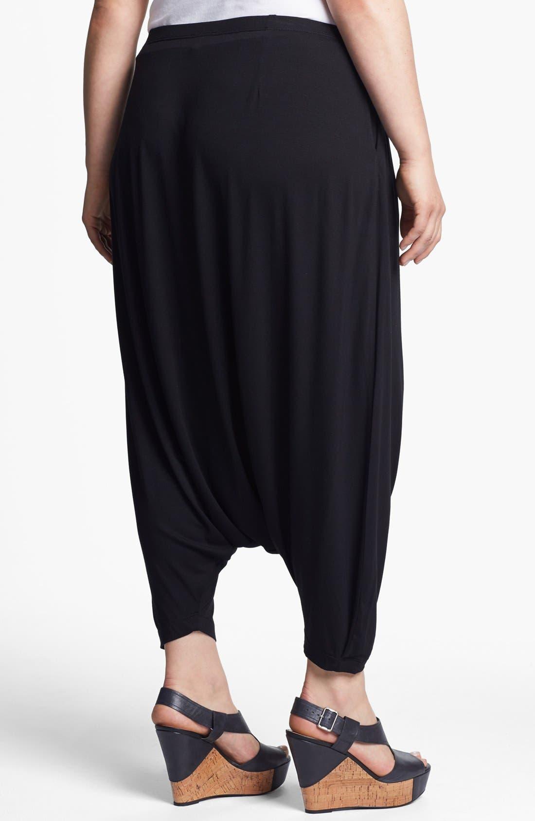 Alternate Image 2  - Eileen Fisher Harem Pants (Plus Size)