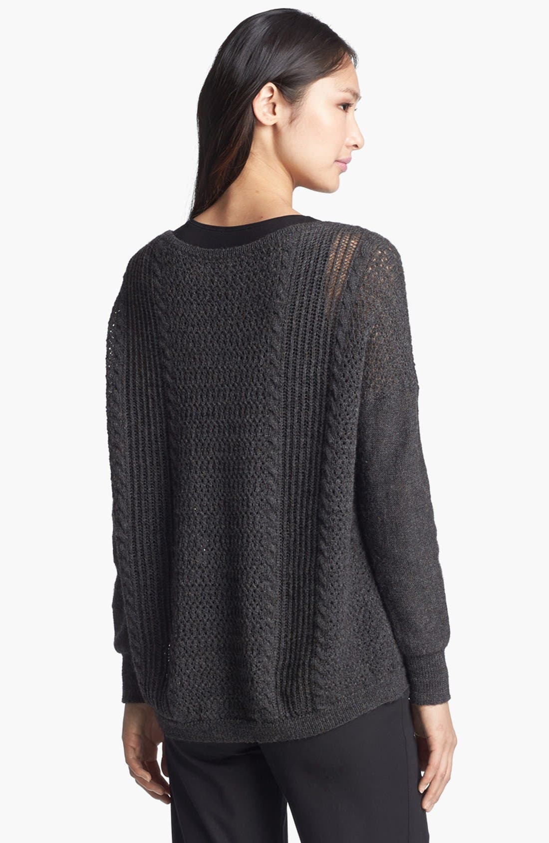 Alternate Image 2  - Eileen Fisher Alpaca & Merino Sweater