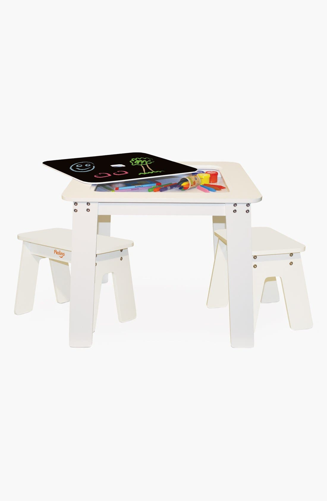 Alternate Image 2  - P'kolino Art Table & Benches (Toddler)
