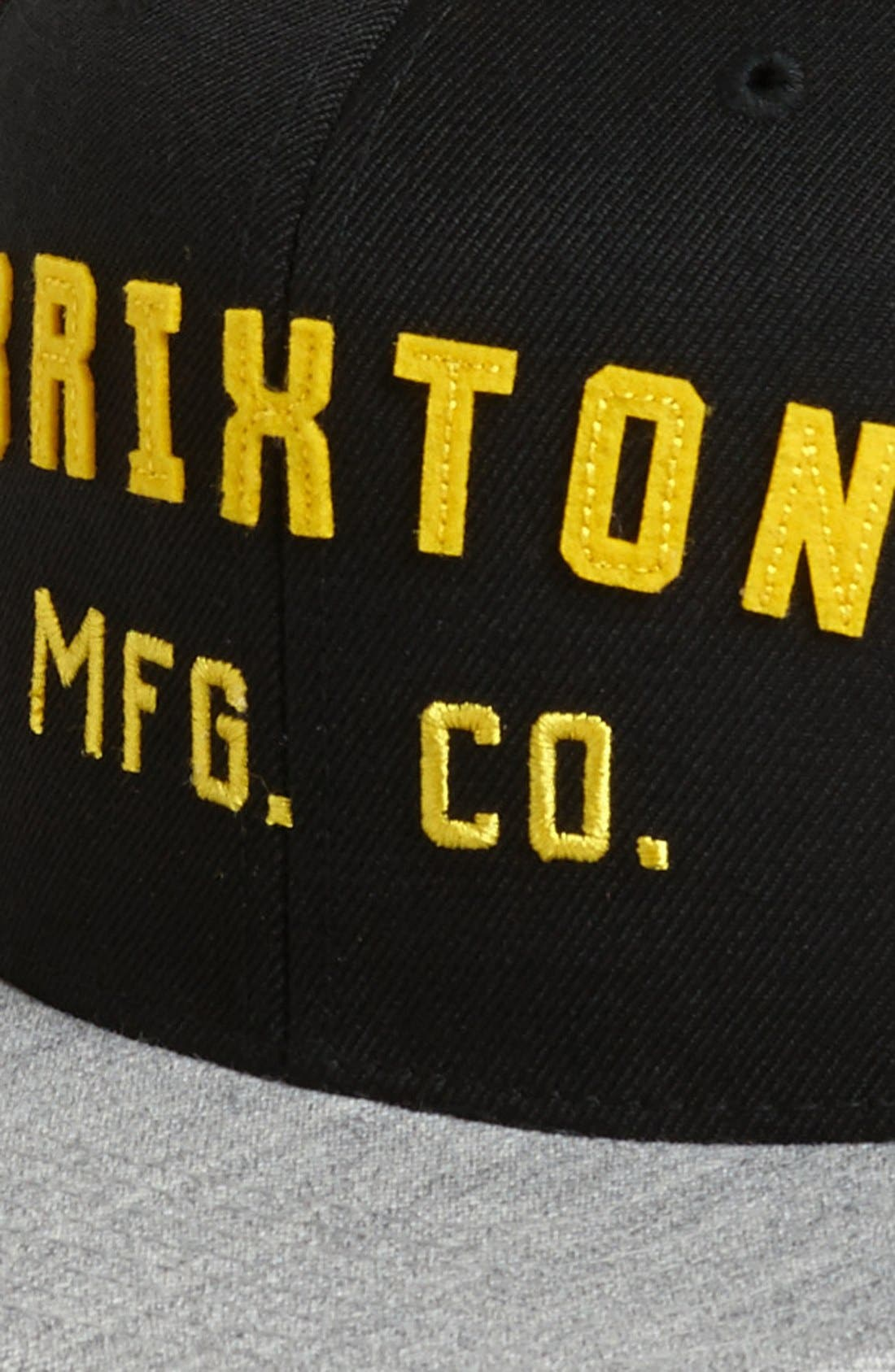 Alternate Image 2  - Brixton 'Arden' Snapback Cap