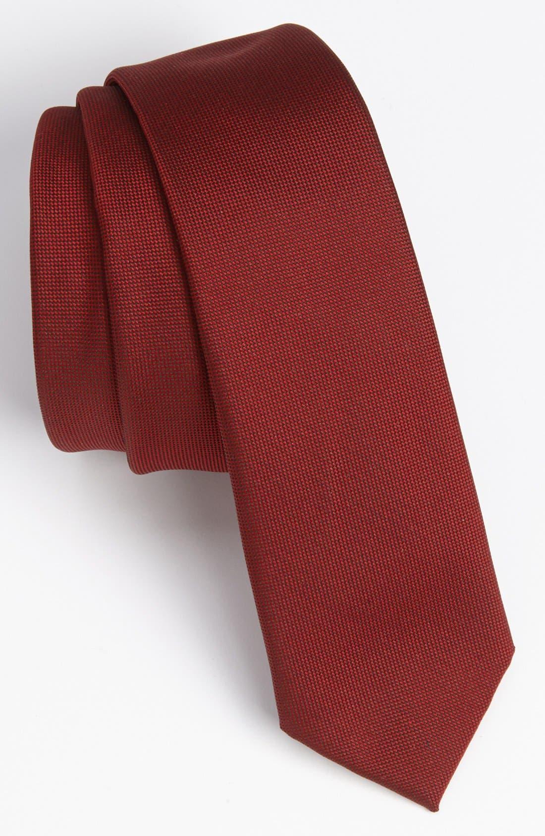 TOPMAN Textured Woven Tie