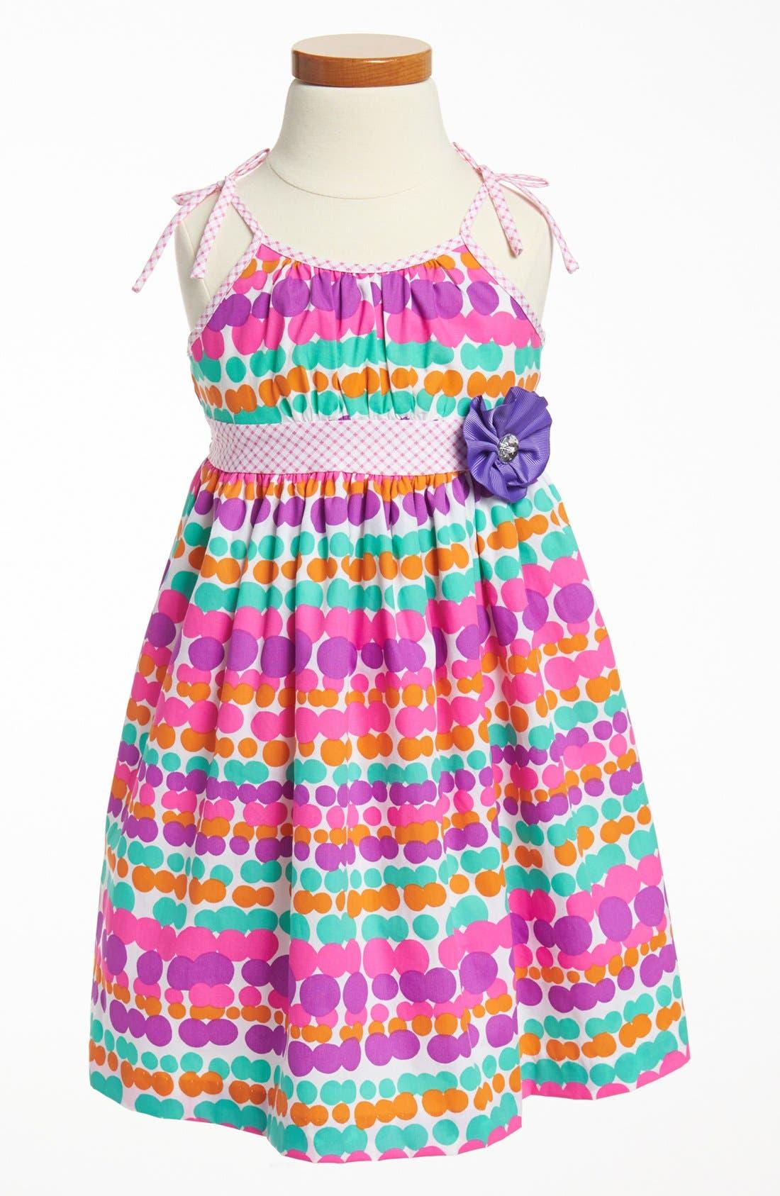 Alternate Image 1 Selected - Marmelatta Dot Dress (Toddler Girls)