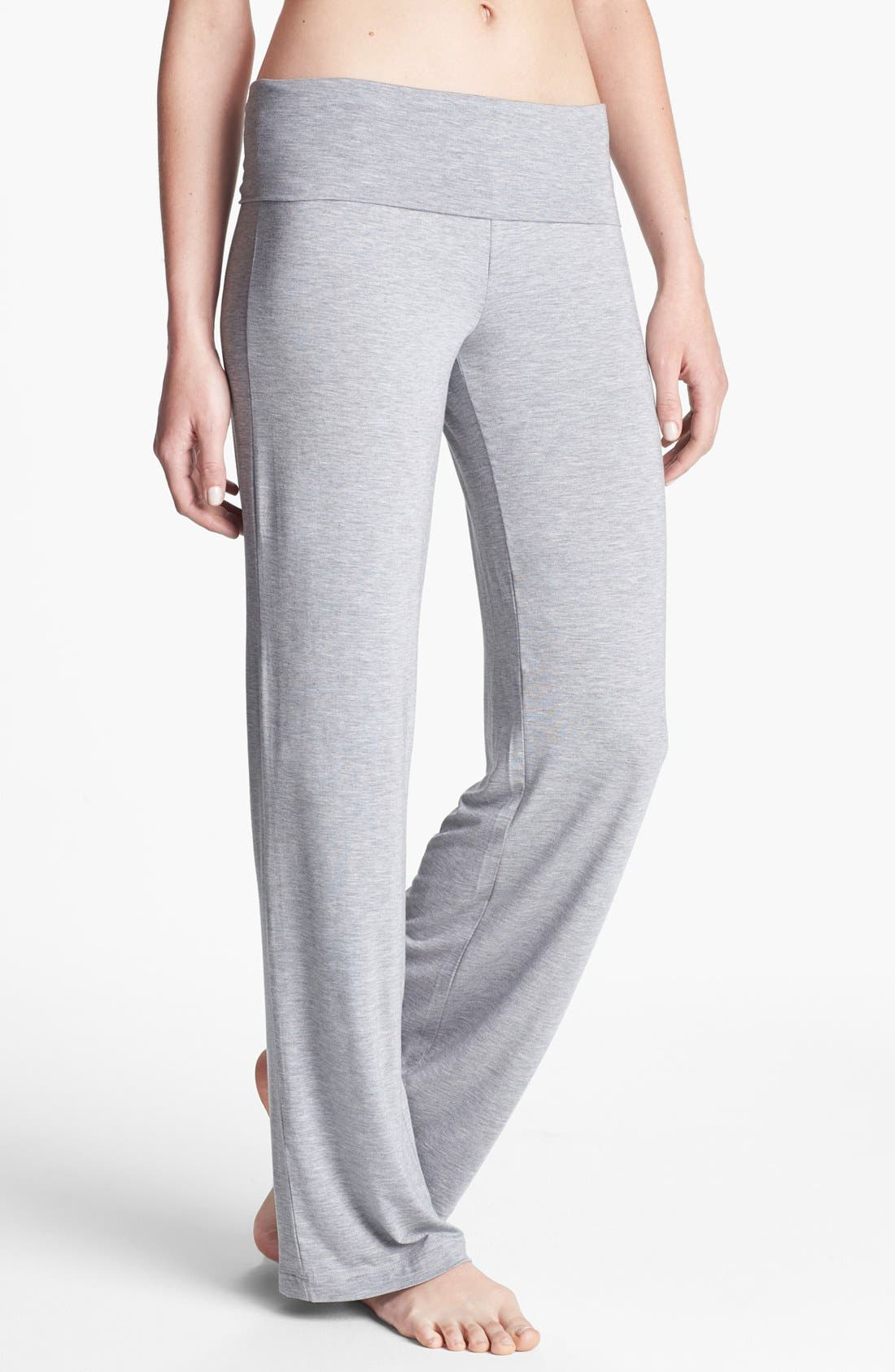 Alternate Image 1 Selected - Calvin Klein 'Essentials' Roll Waist Pants