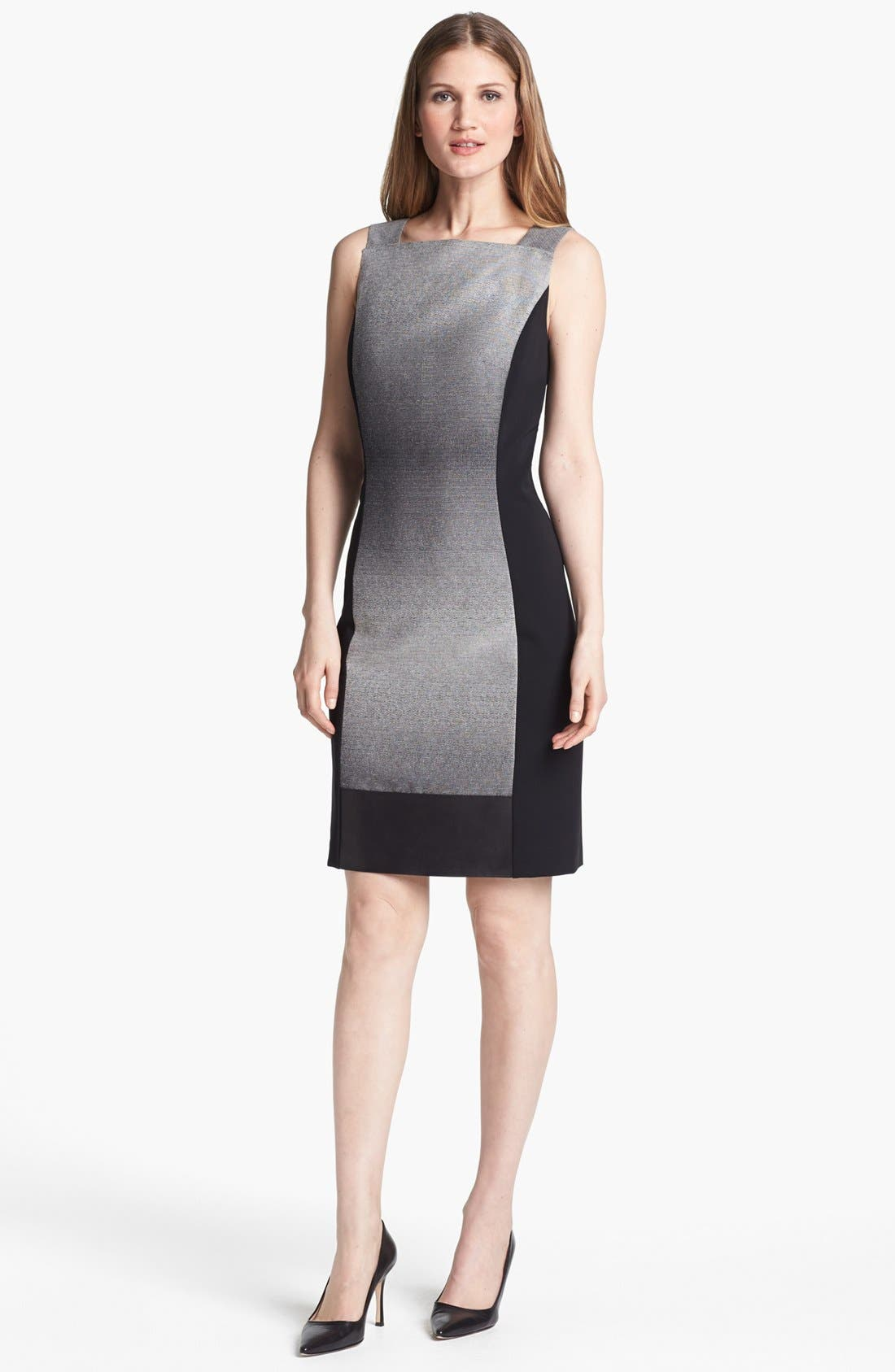Alternate Image 1 Selected - Lafayette 148 New York 'Penny - Saturnine Cloth' Dress