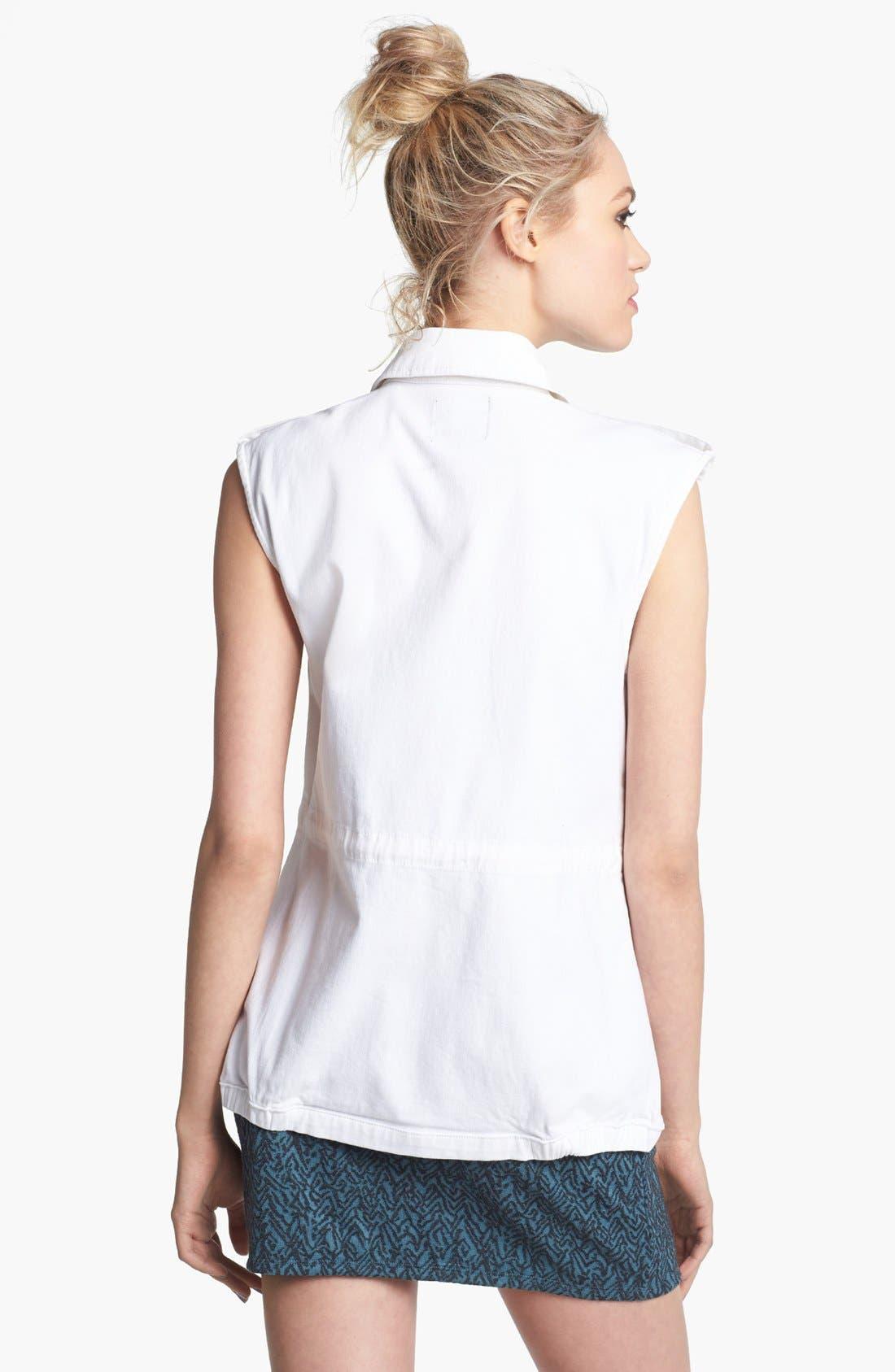 Alternate Image 2  - Trouvé Sleeveless Military Jacket