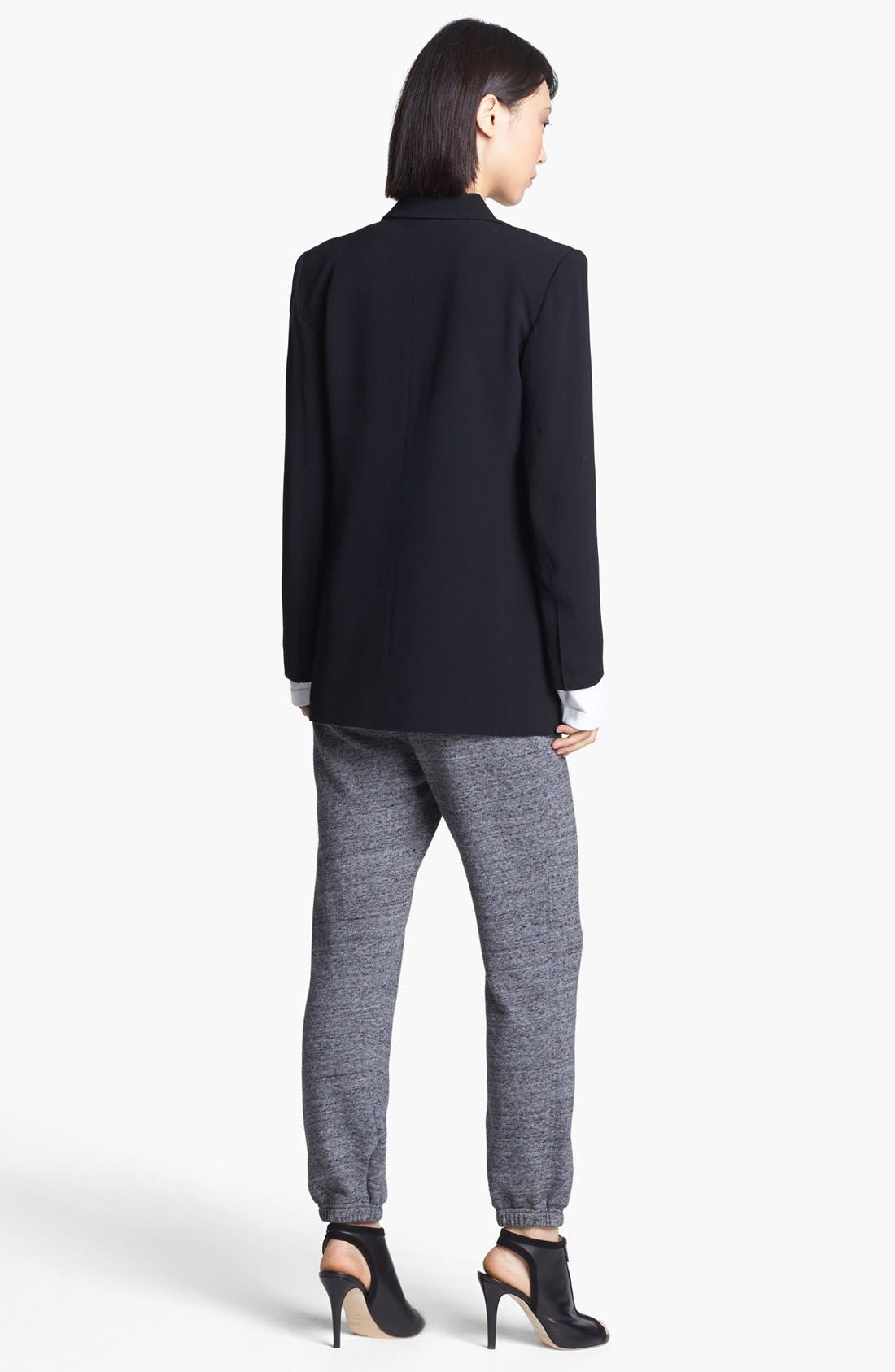 Alternate Image 2  - T by Alexander Wang Crepe Blazer