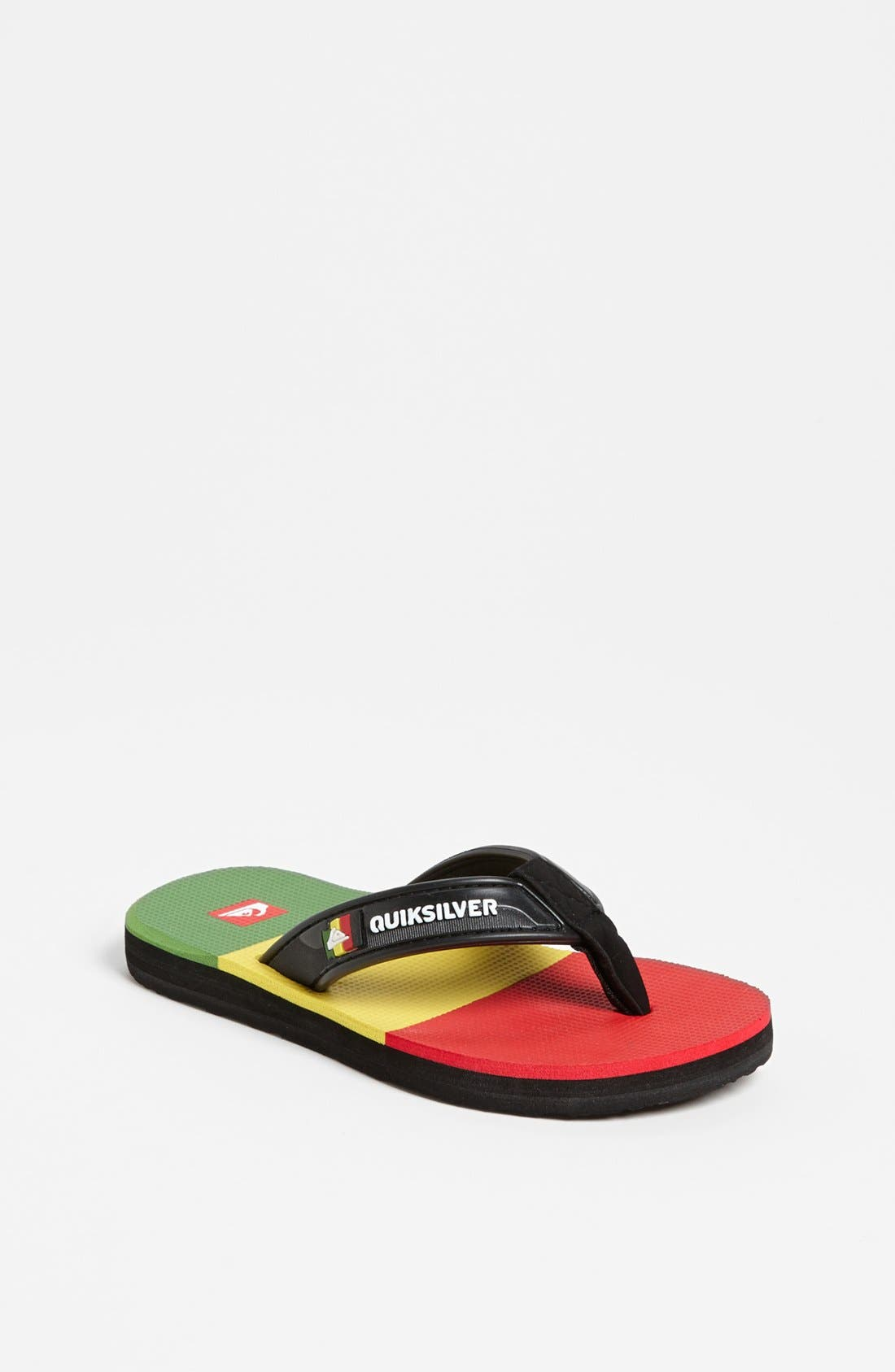 Main Image - Quiksilver 'Eclipsed' Sandal (Little Kid & Big Kid)