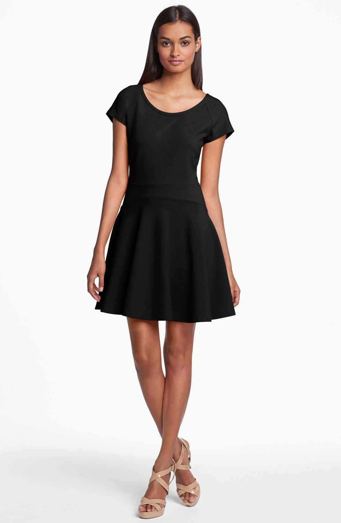 Alternate Image 1 Selected - Diane von Furstenberg 'Delyse' Stretch Fit & Flare Dress