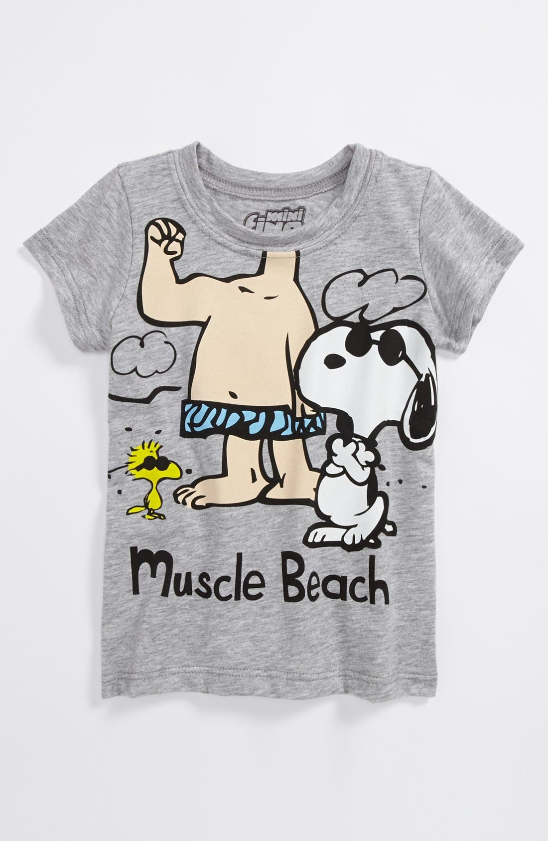 Alternate Image 1 Selected - Mighty Fine 'Muscle Beach' T-Shirt (Baby Boys)