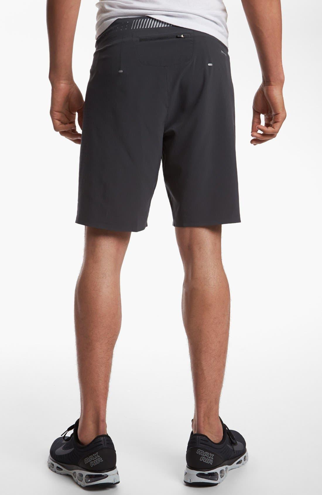 Alternate Image 2  - Nike 'Instinct' Stretch Woven Running Shorts
