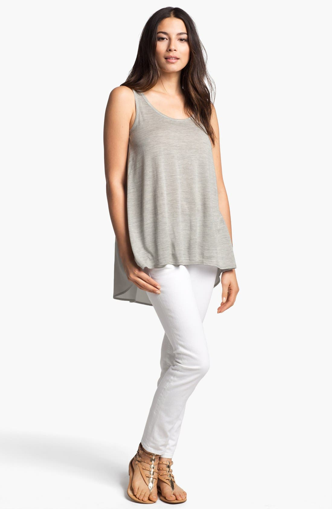 Alternate Image 2  - Eileen Fisher Scoop Neck Tank