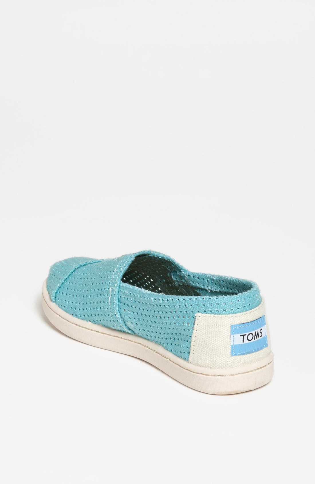 Alternate Image 2  - TOMS 'Classic - Youth' Perforated Slip-On (Toddler, Little Kid & Big Kid)