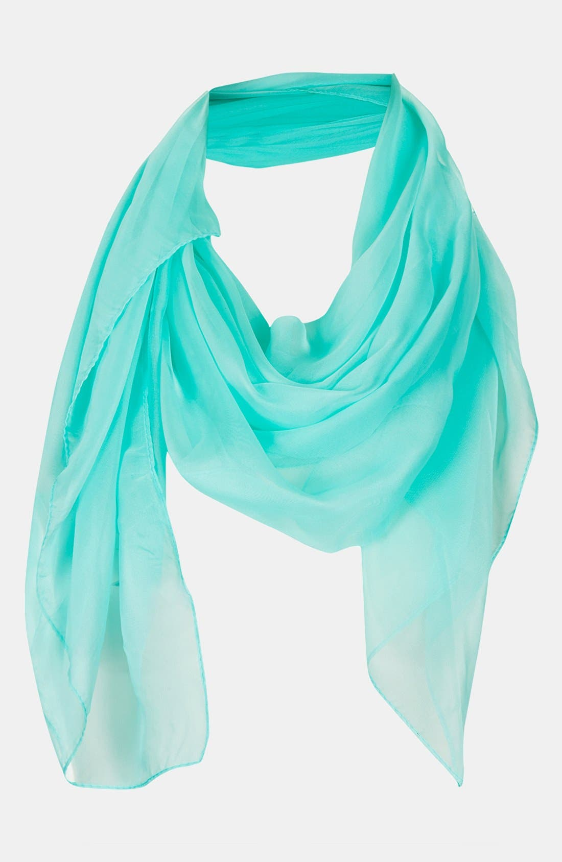 Alternate Image 1 Selected - Topshop Chiffon Square Scarf