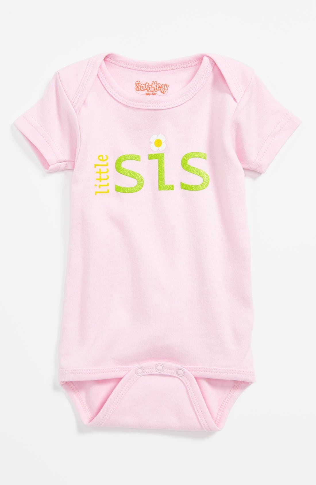 Alternate Image 1 Selected - Sara Kety Baby & Kids Romper (Baby Girls)