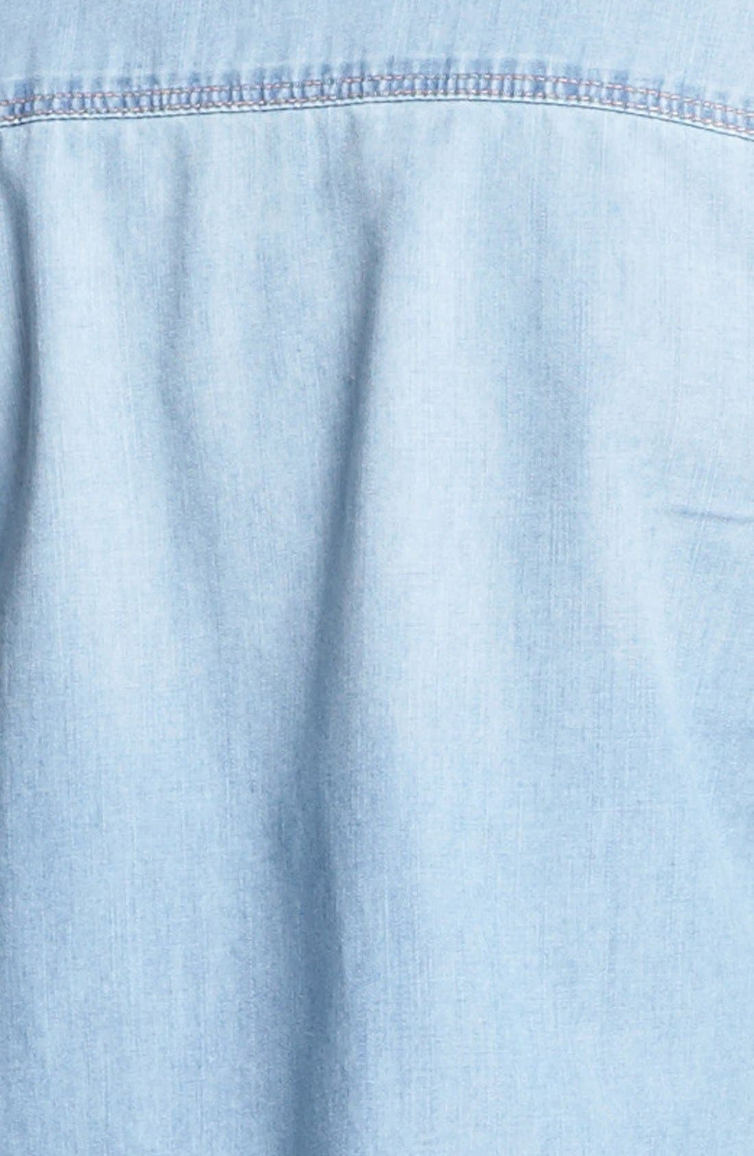 Alternate Image 5  - Halogen® Chambray Shirt