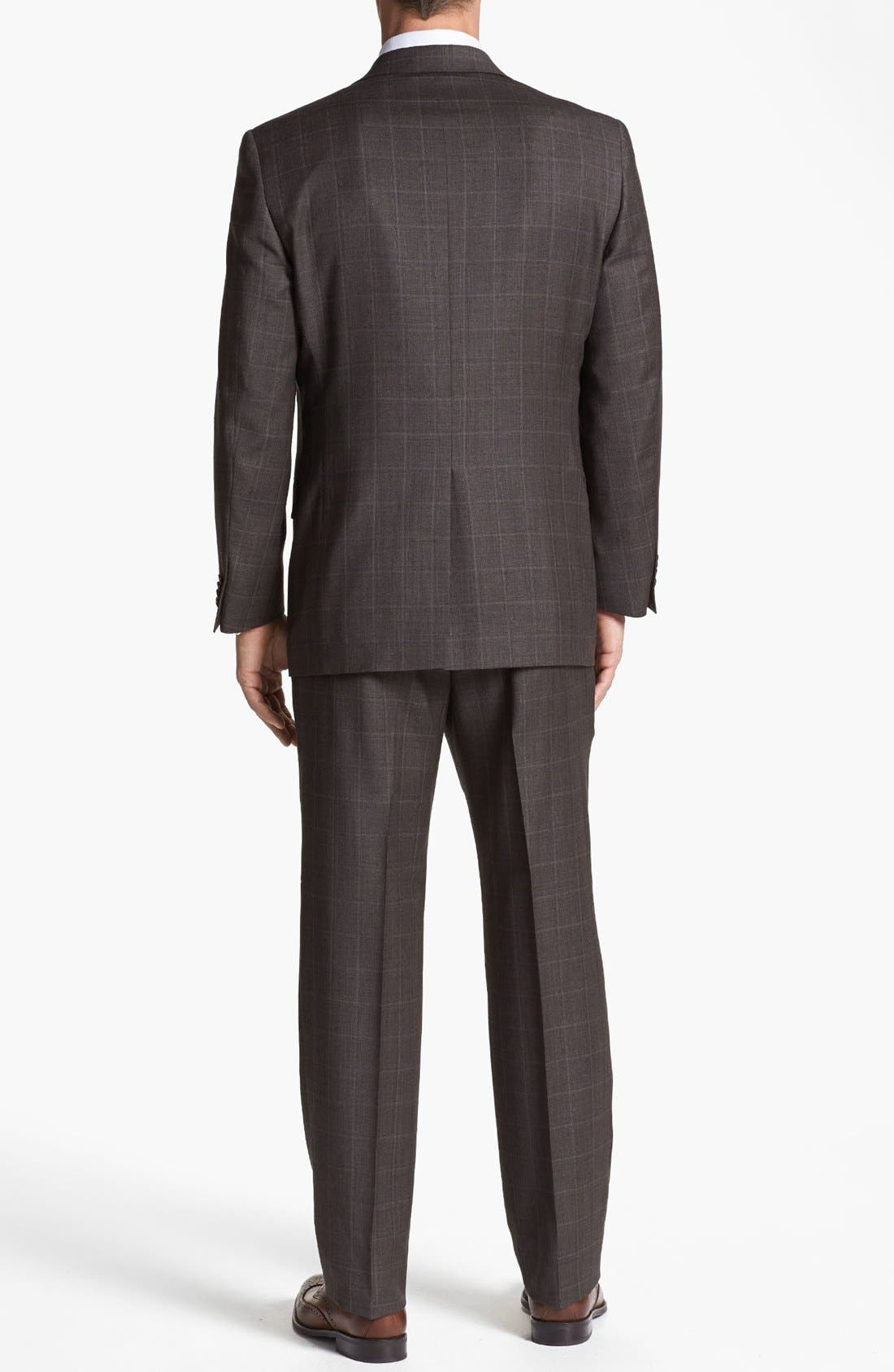 Alternate Image 3  - Hart Schaffner Marx Classic Fit Plaid Suit