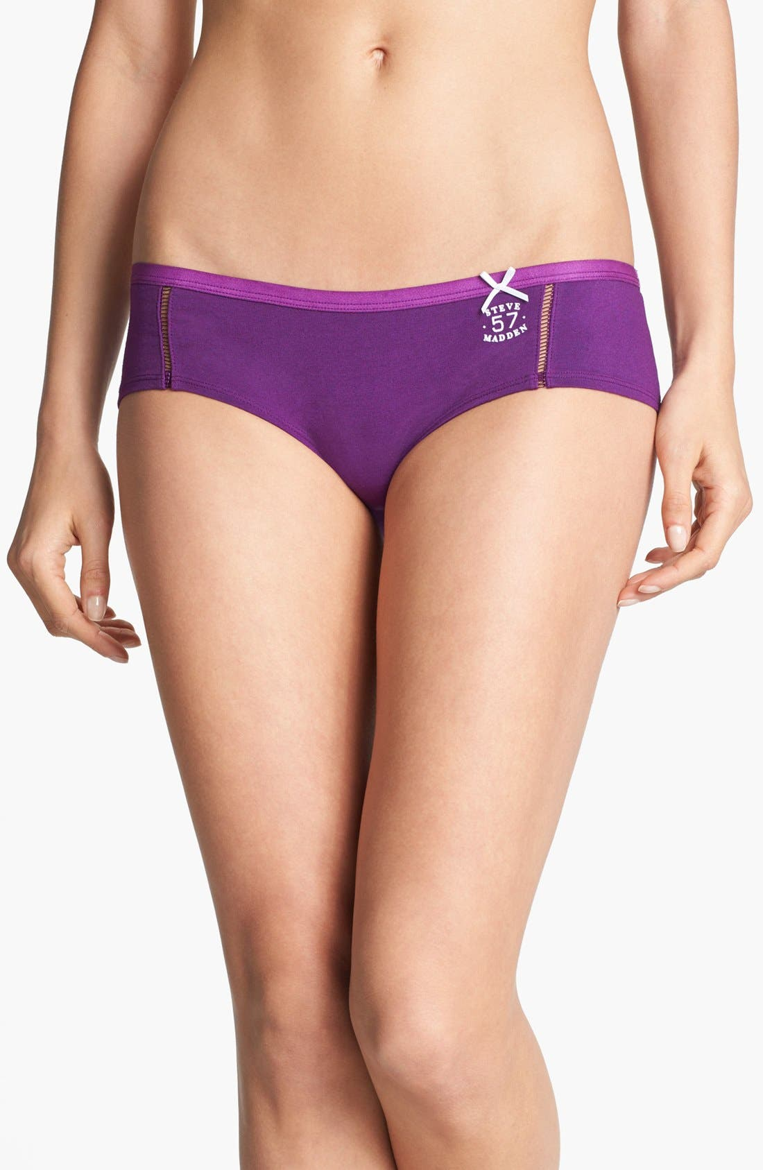 Athletic Hipster Briefs,                             Main thumbnail 1, color,                             Vivid Violet