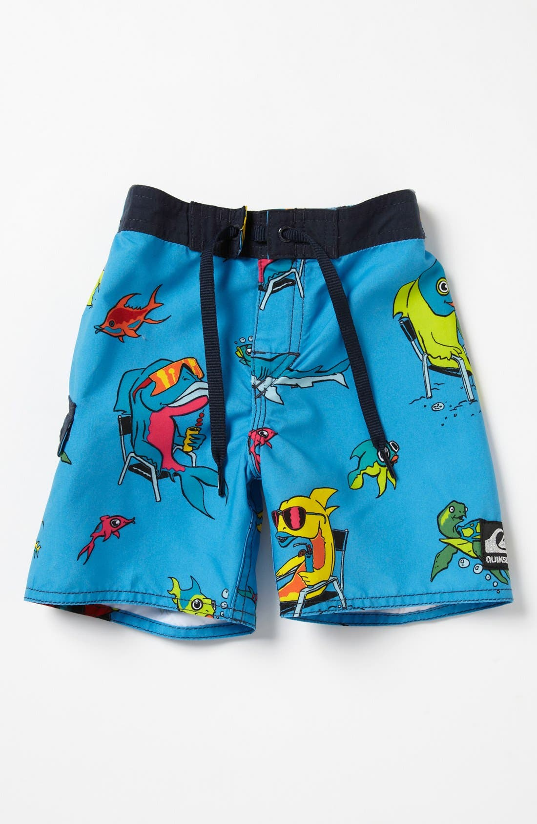 Main Image - Quiksilver 'Fish Tacoz' Board Shorts (Baby Boys)