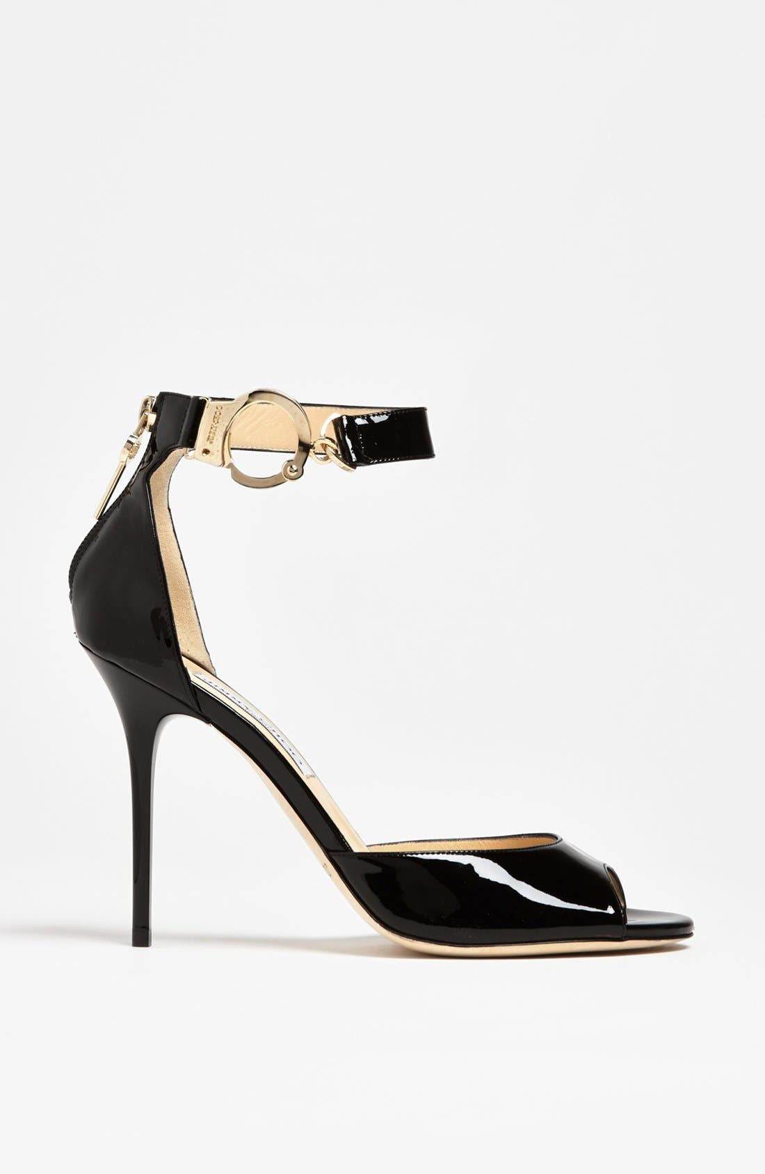 Alternate Image 4  - Jimmy Choo 'Hand Cuff' Sandal