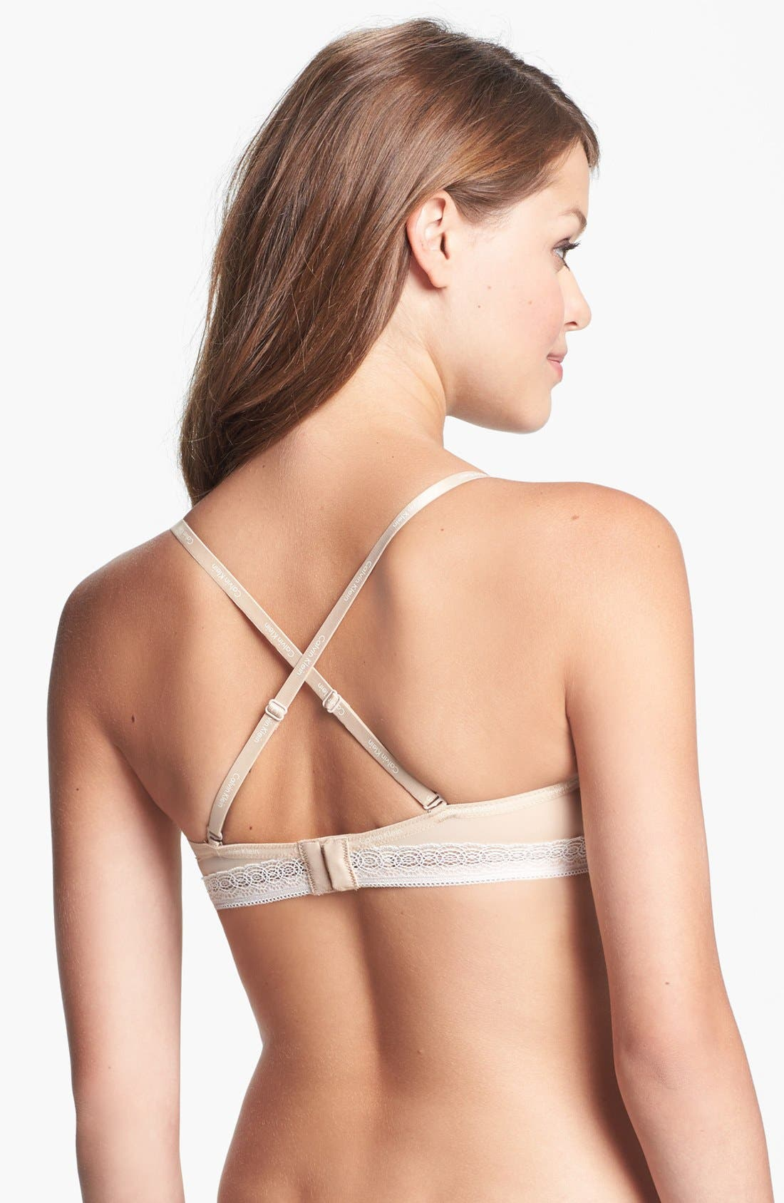 Alternate Image 2  - Calvin Klein 'Perfectly Fit' Convertible Bandeau Bra