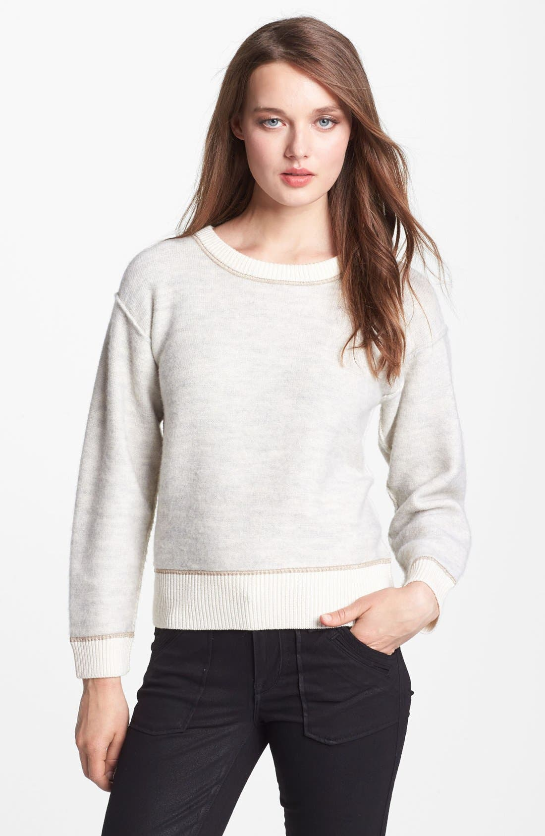Main Image - MARC BY MARC JACOBS 'Harriet' Crop Wool Sweater