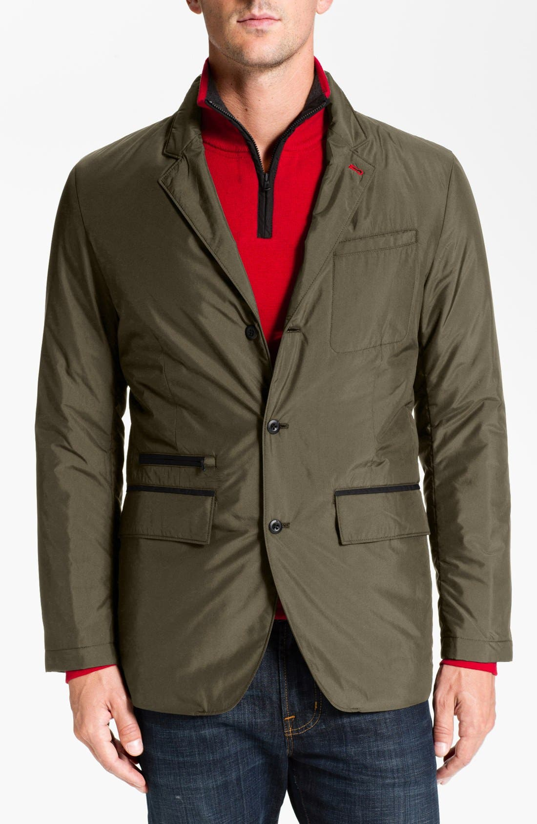 Alternate Image 1 Selected - Victorinox Swiss Army® 'Leiden' Regular Fit Insulated Blazer