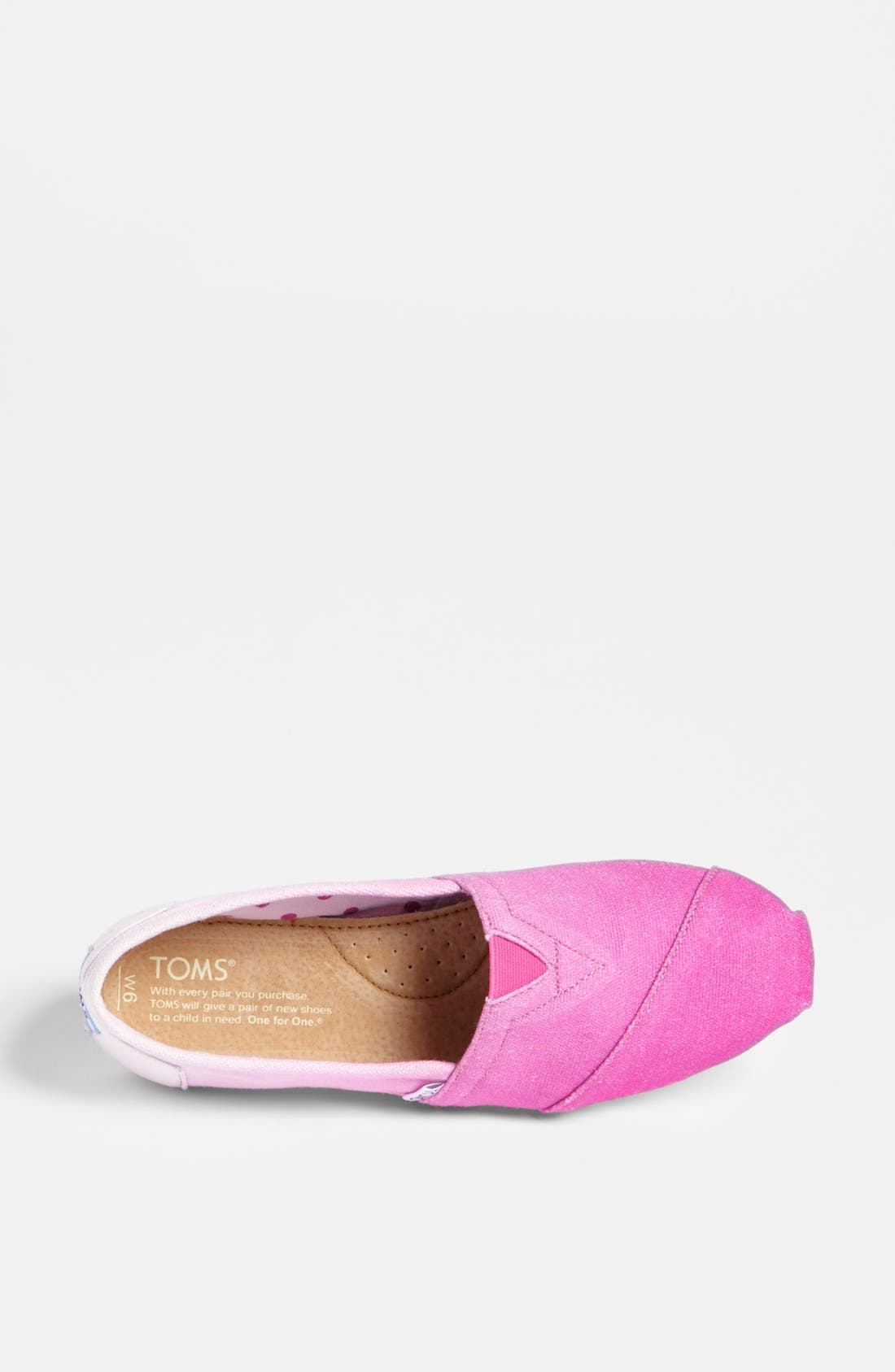 Alternate Image 3  - TOMS 'Classic - Pink Ombré' Slip-On (Women) (Exclusive Color)
