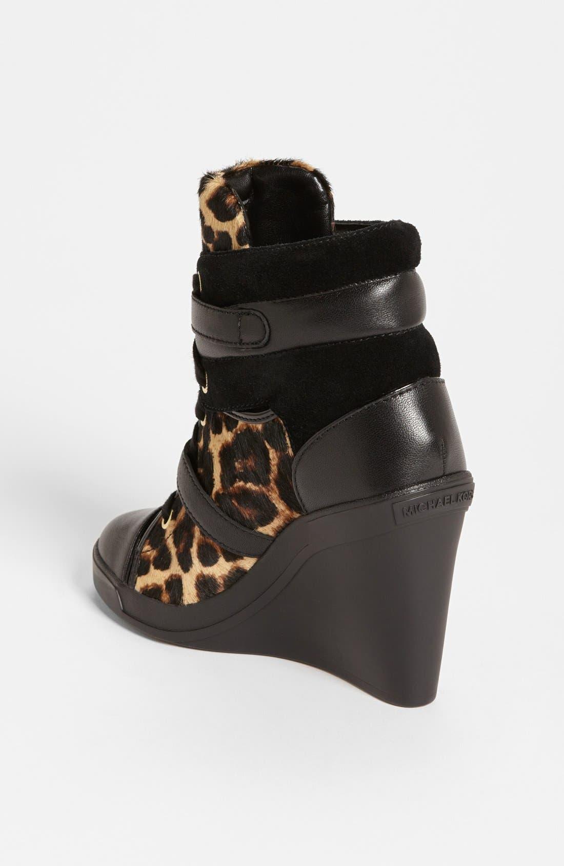 Alternate Image 2  - MICHAEL Michael Kors 'Skid' Wedge Sneaker