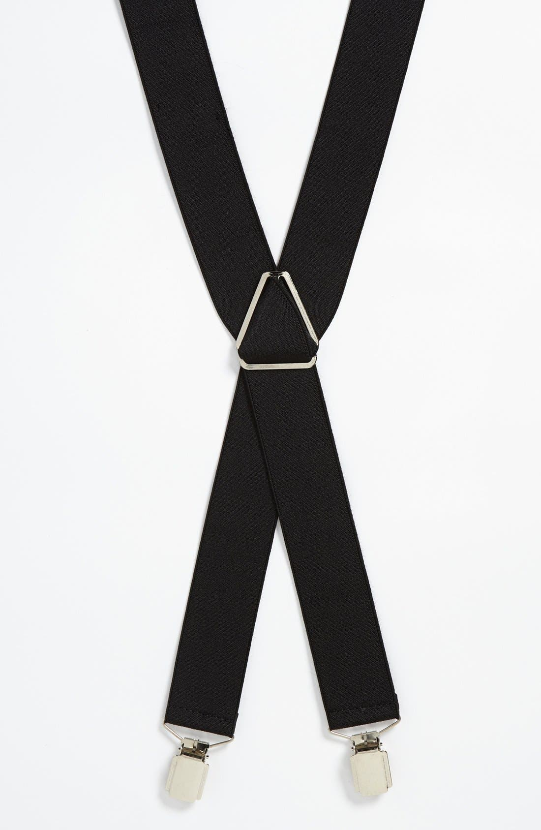 Alternate Image 1 Selected - Topman Vintage Suspenders