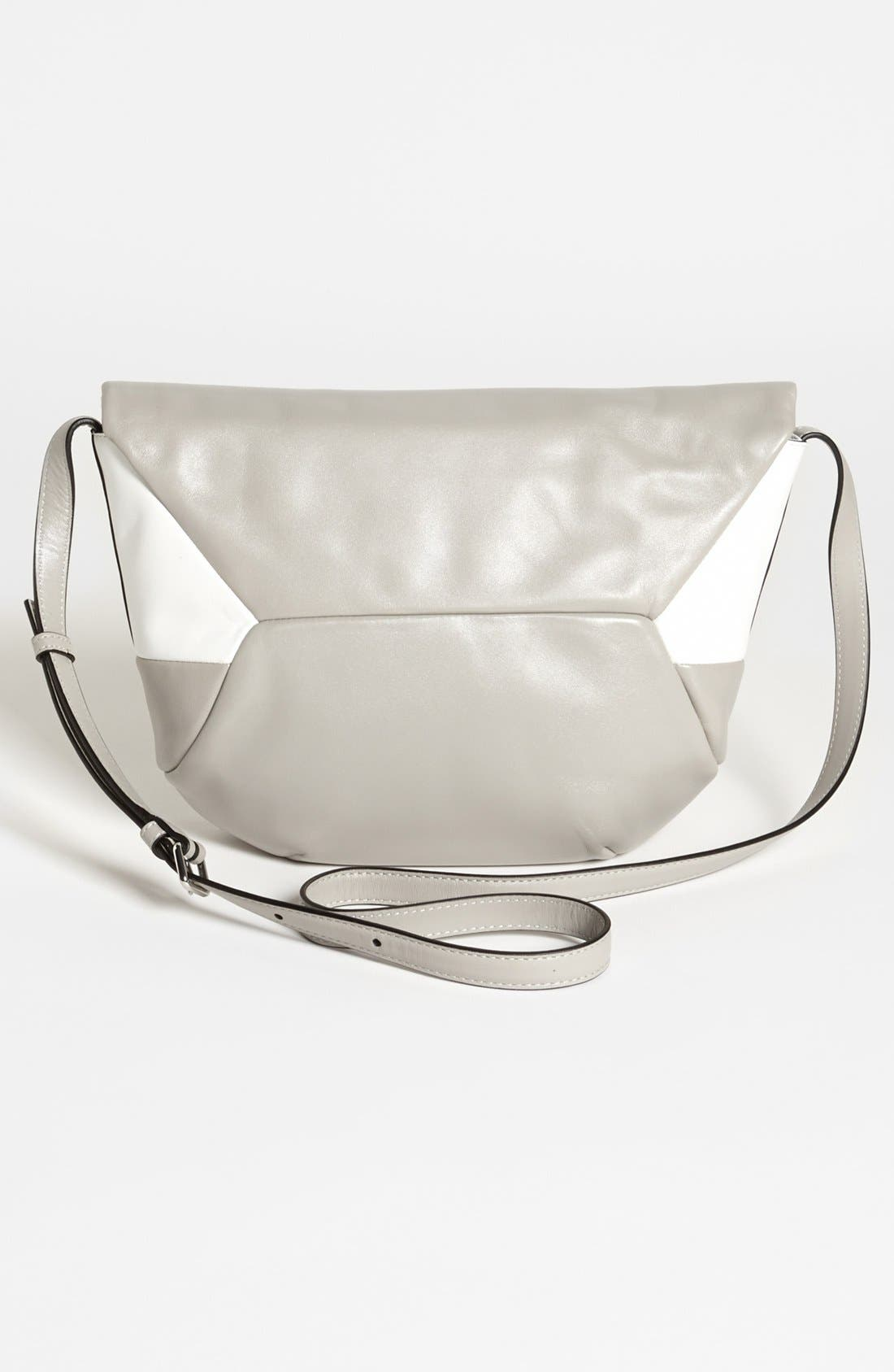 Alternate Image 4  - MARC BY MARC JACOBS 'Updated Tangram - Colorblock Rocky' Leather Crossbody Bag