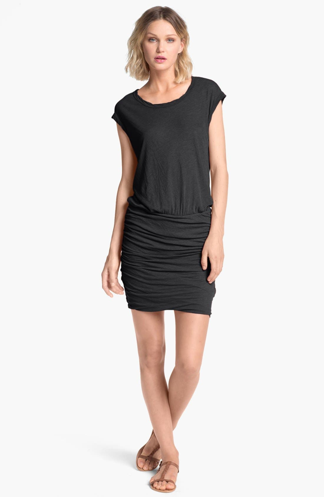 Main Image - James Perse 'High Twist' Jersey Dress