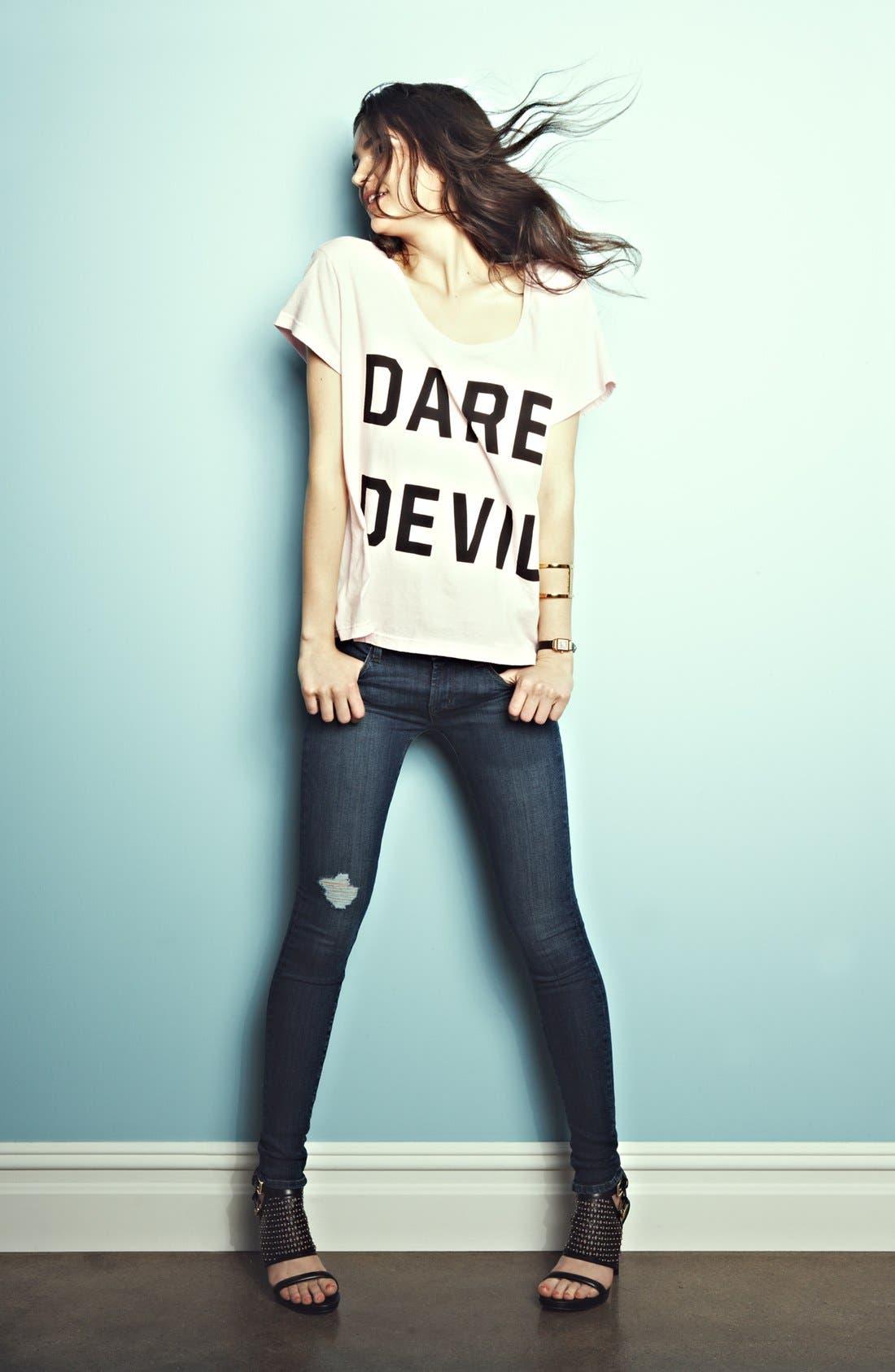 Alternate Image 4  - Wildfox 'Dare Devil' Tee