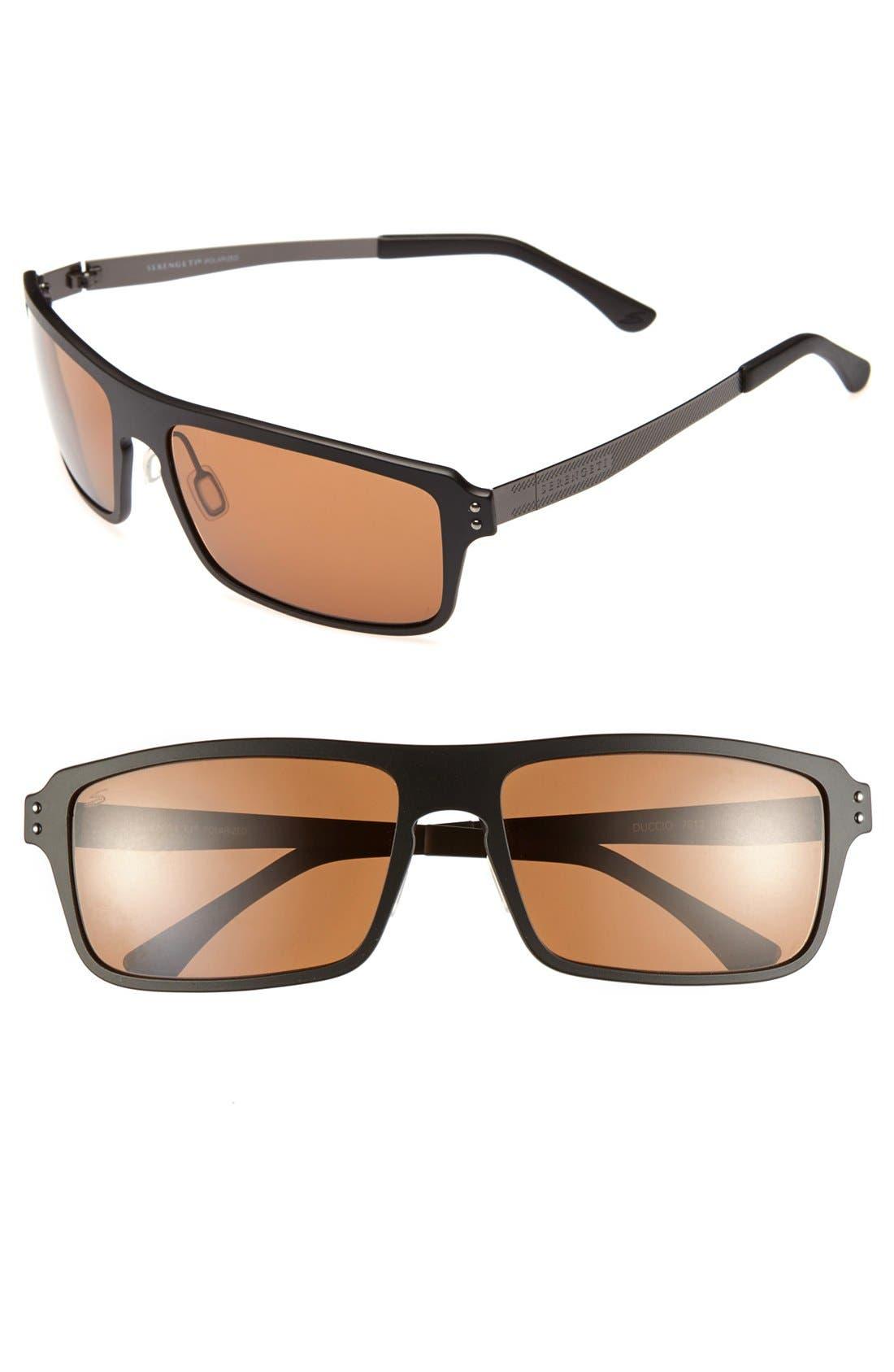 Alternate Image 1 Selected - Serengeti 'Duccio' 65mm Polarized Sunglasses
