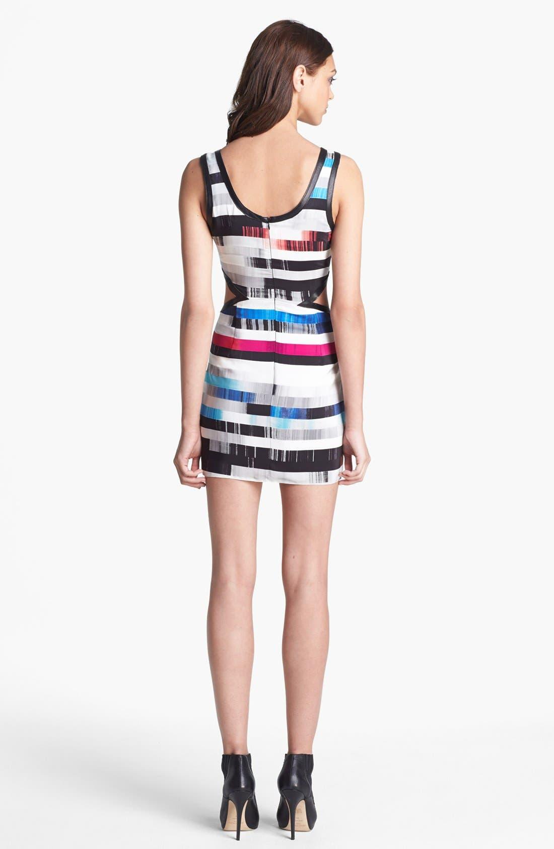 Alternate Image 2  - Parker 'Slash' Silk Tank Dress