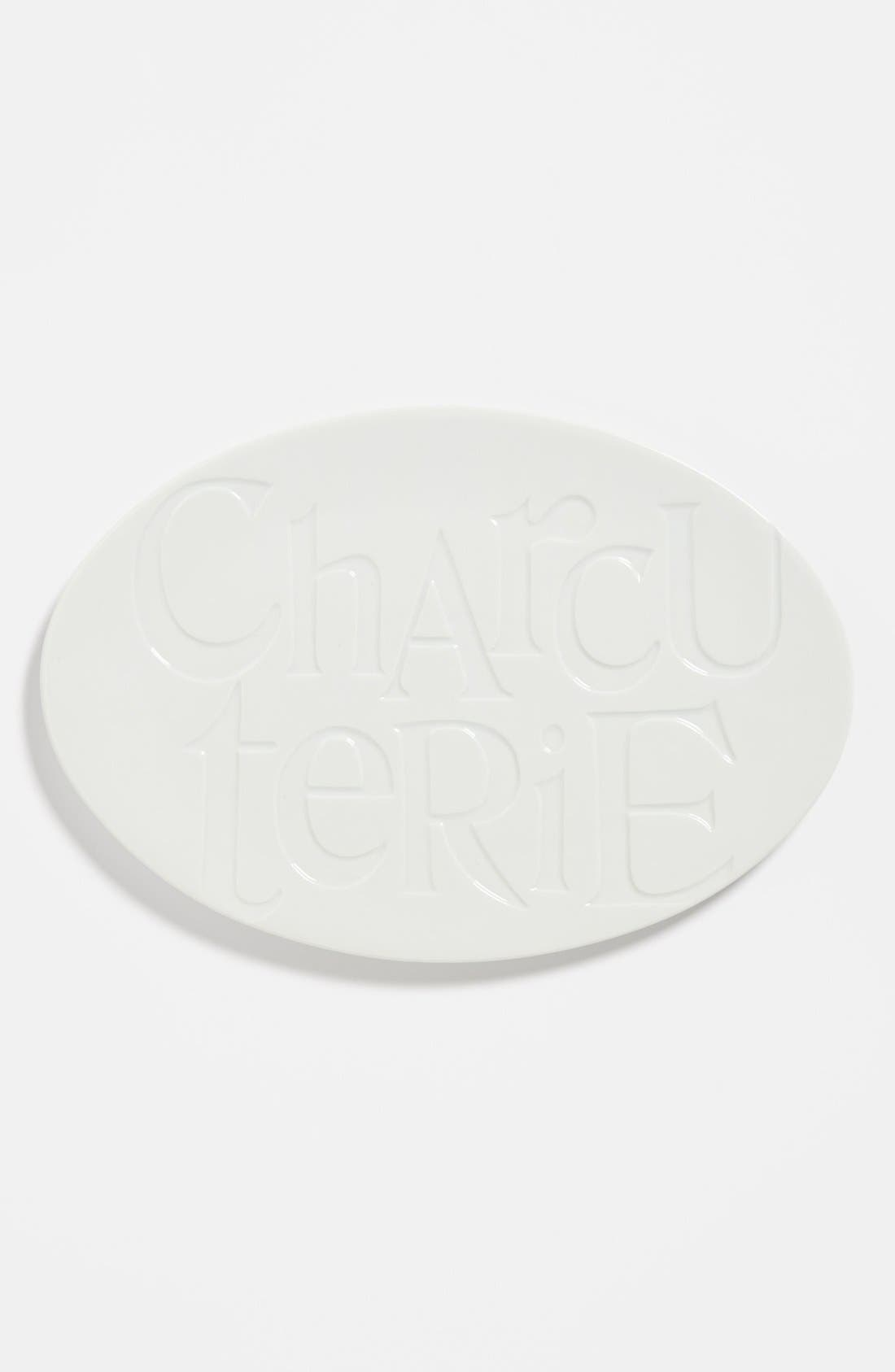 Alternate Image 1 Selected - Rosanna 'Savour - Charcuterie' Porcelain Tray