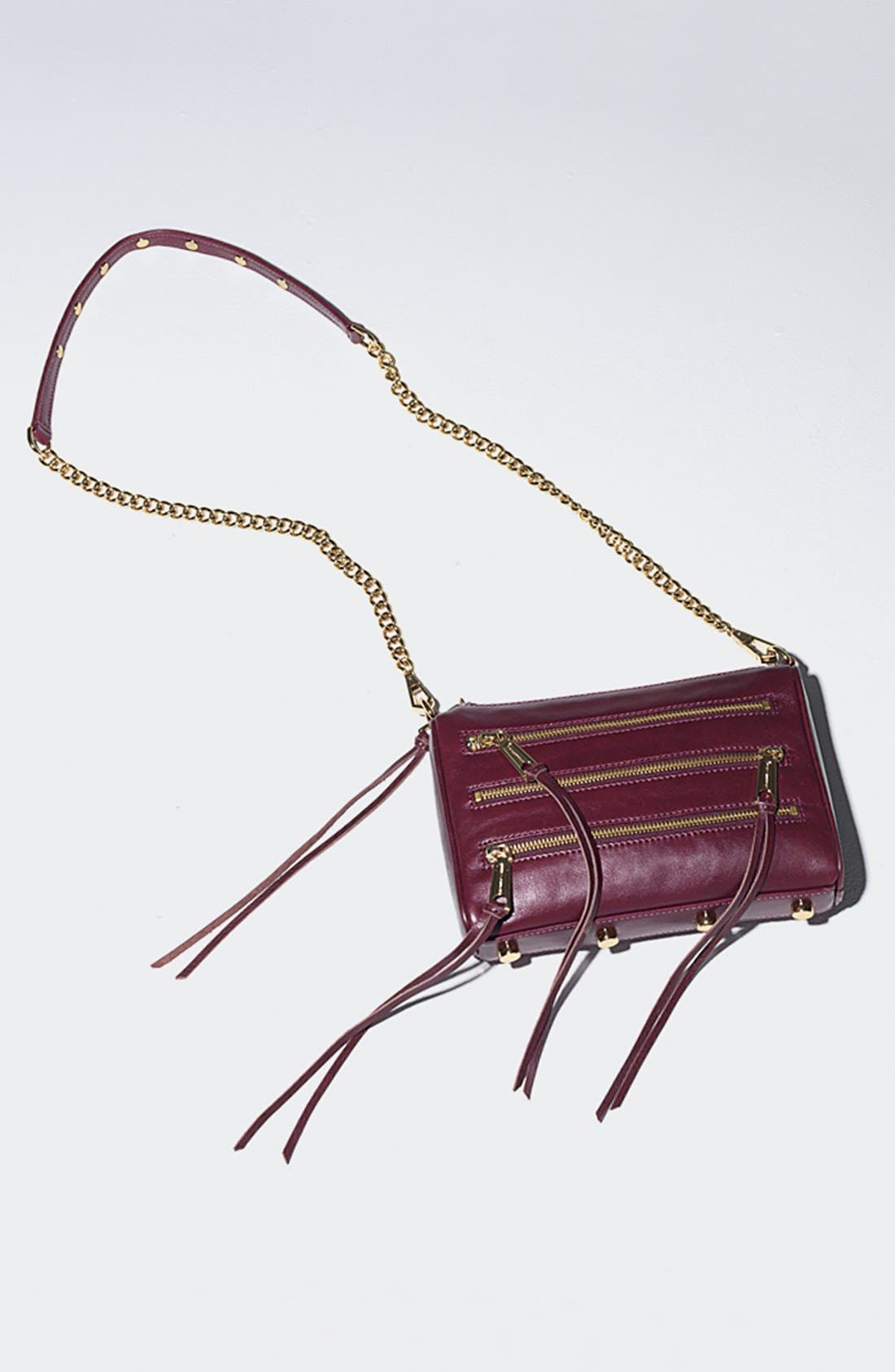 Alternate Image 2  - Rebecca Minkoff '5 Zip - Mini' Crossbody Bag