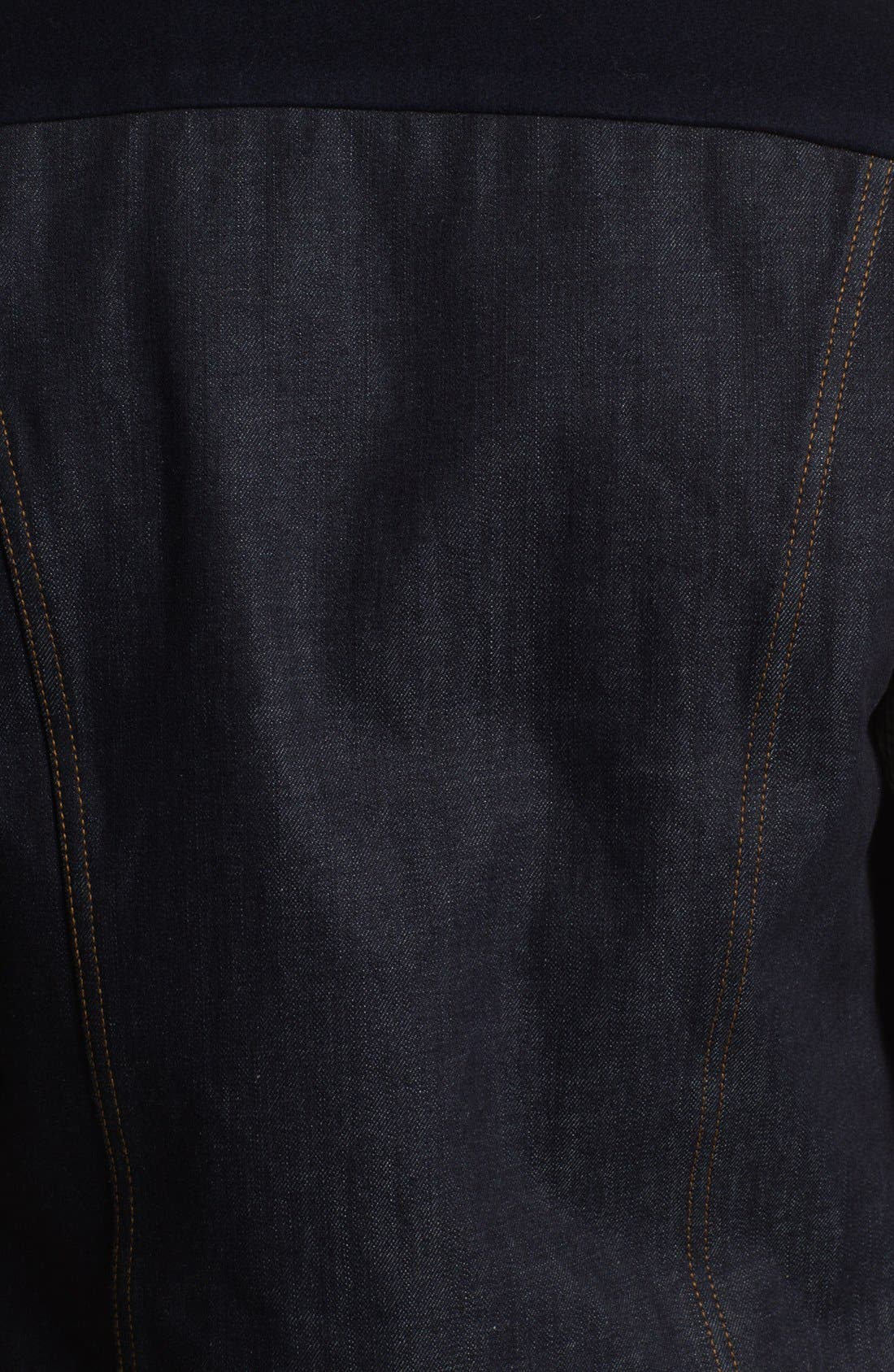 Alternate Image 3  - AMI Alexandre Mattiussi Denim Vest