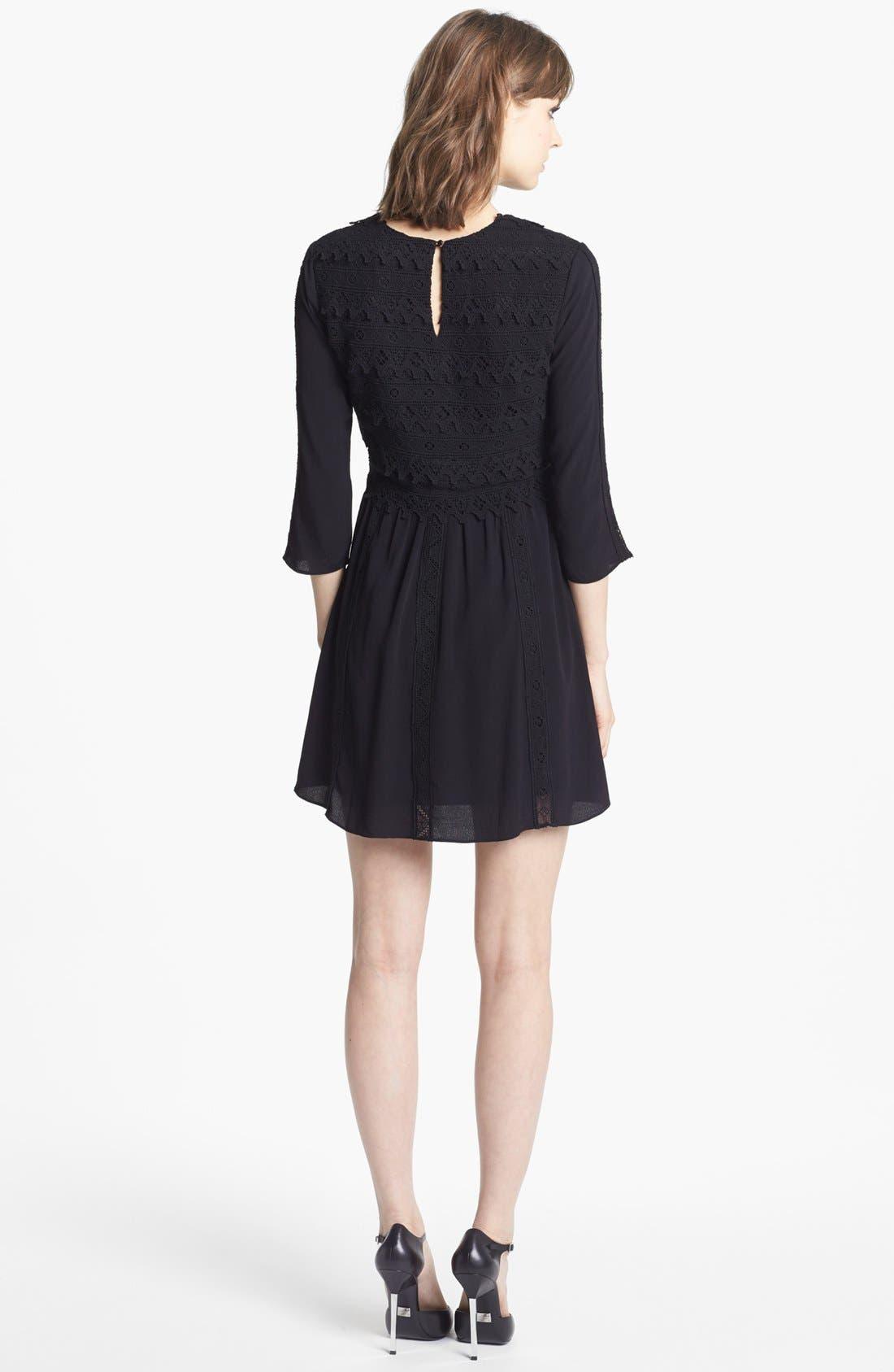Alternate Image 2  - Dolce Vita Lace Fit & Flare Dress