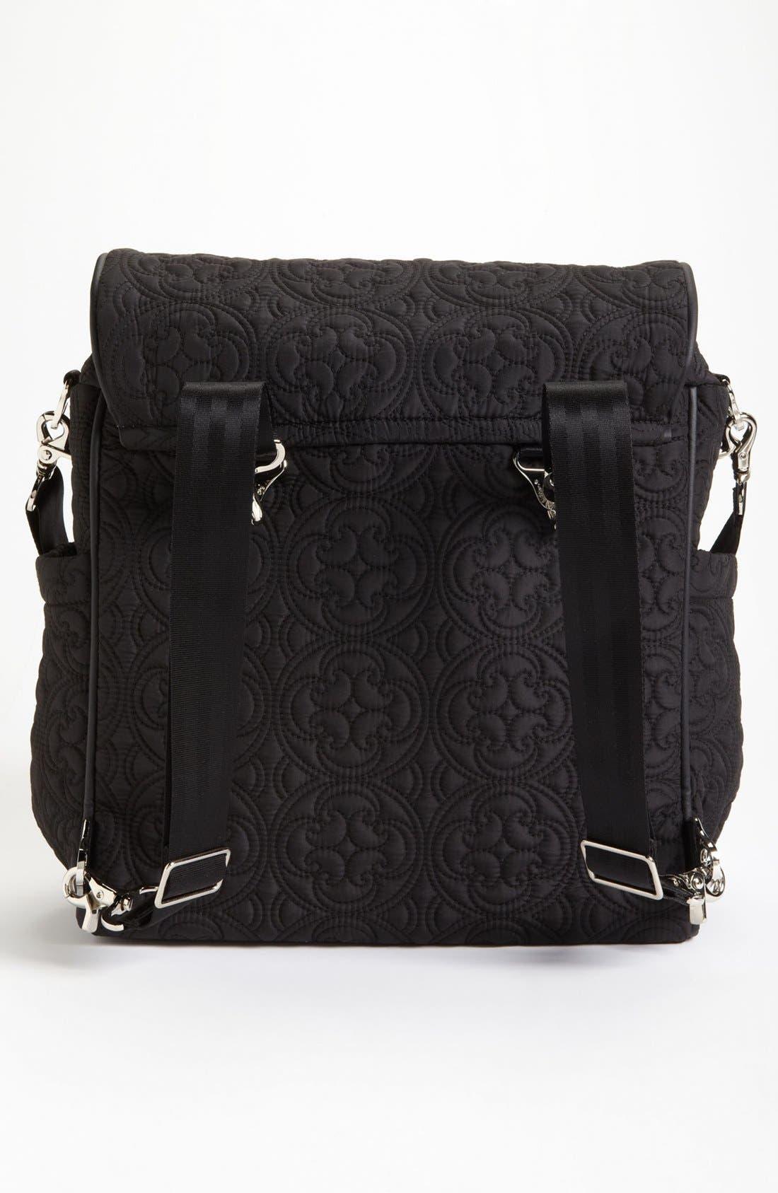 Alternate Image 4  - Petunia Pickle Bottom 'Embossed Boxy' Backpack Diaper Bag