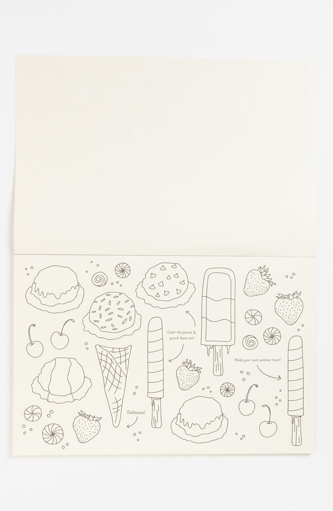 Alternate Image 2  - Kitchen Papers by Cake 'Ice Cream Party' Kids Paper Placemat Pad