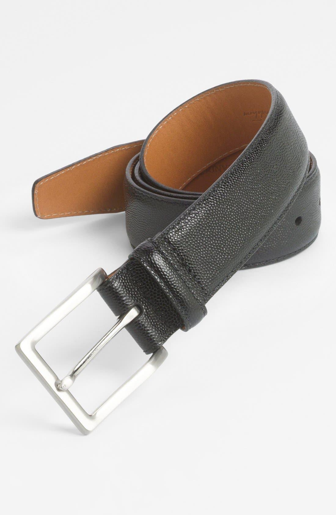 Alternate Image 1 Selected - John W. Nordstrom® Calfskin Belt