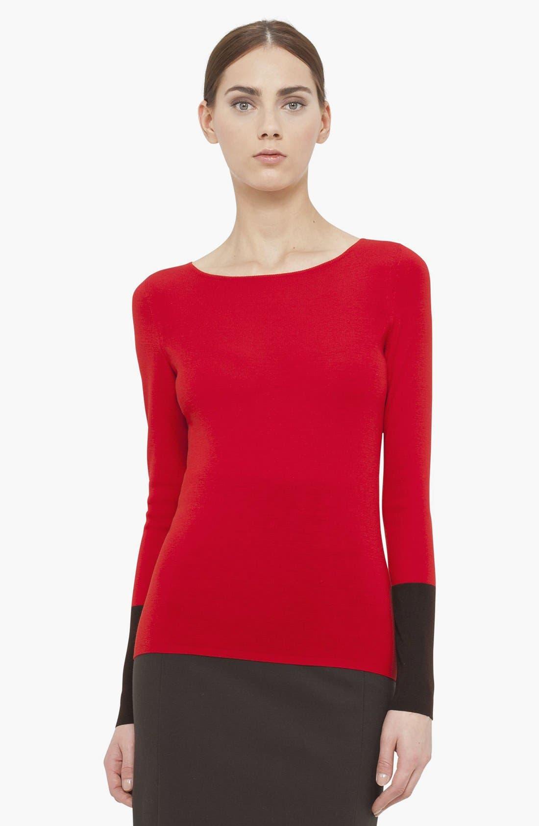 Main Image - Akris punto Wool Sweater