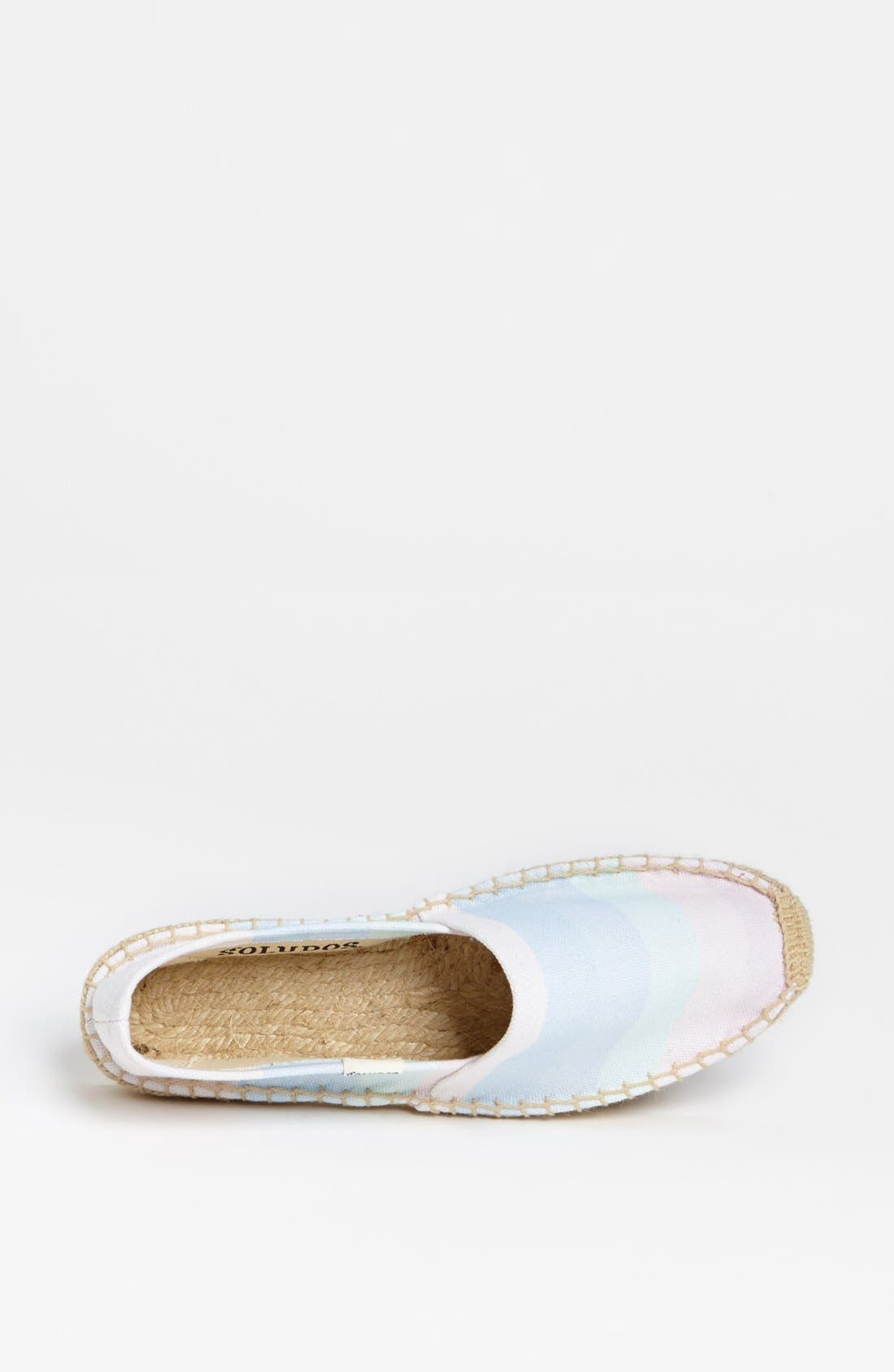 Alternate Image 3  - Soludos 'Ombré Washed Rainbow' Slip-On (Women)