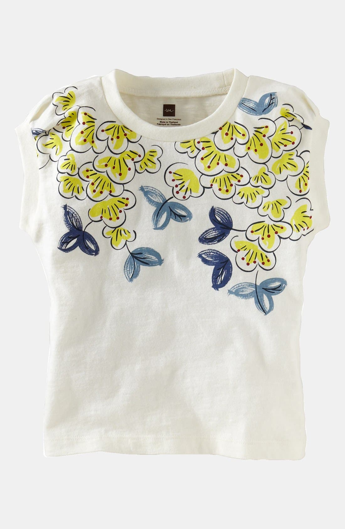 Alternate Image 1 Selected - Tea Collection 'Eastern Blossom' Tee (Baby Girls)